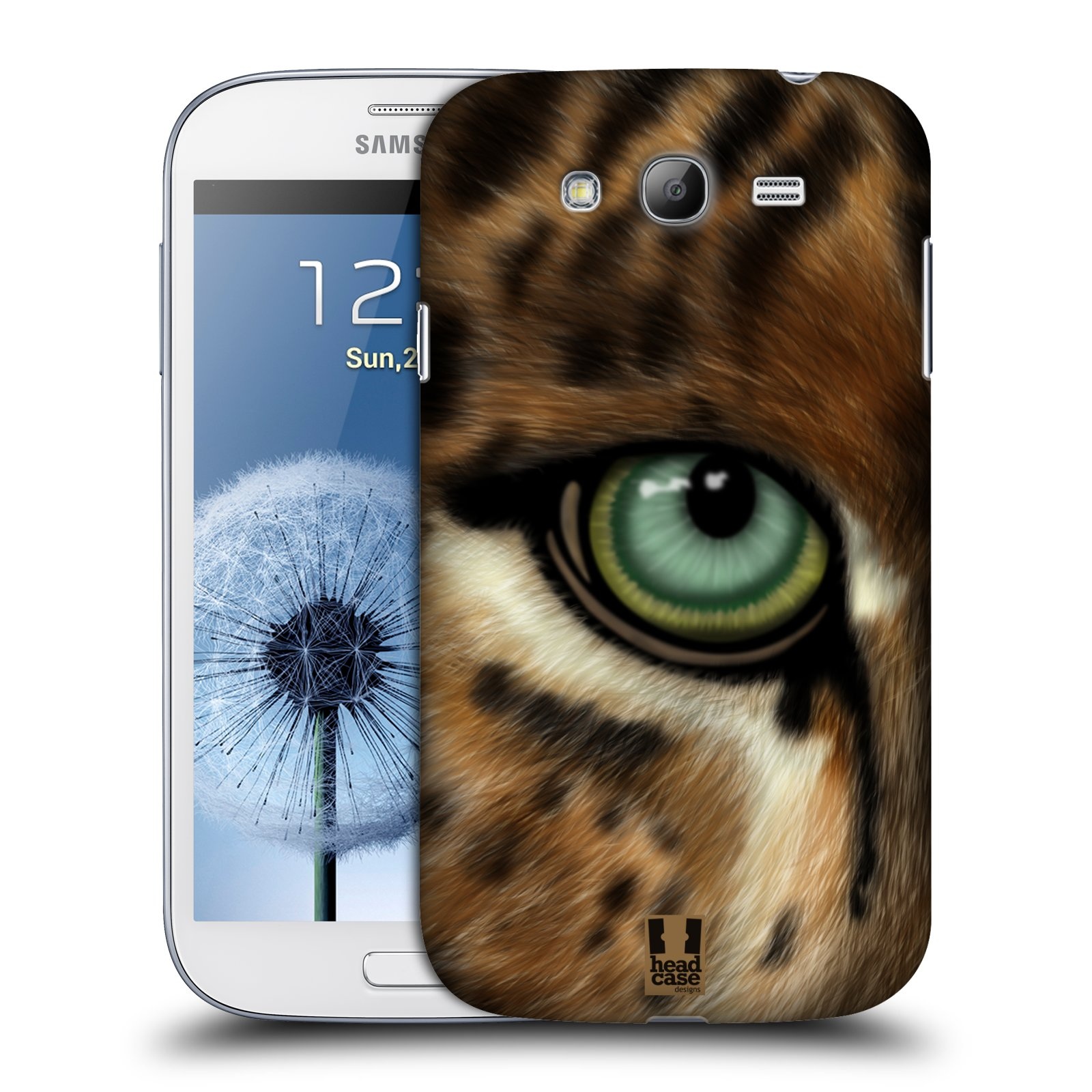HEAD CASE plastový obal na mobil SAMSUNG GALAXY Grand i9080 vzor pohled zvířete oko leopard