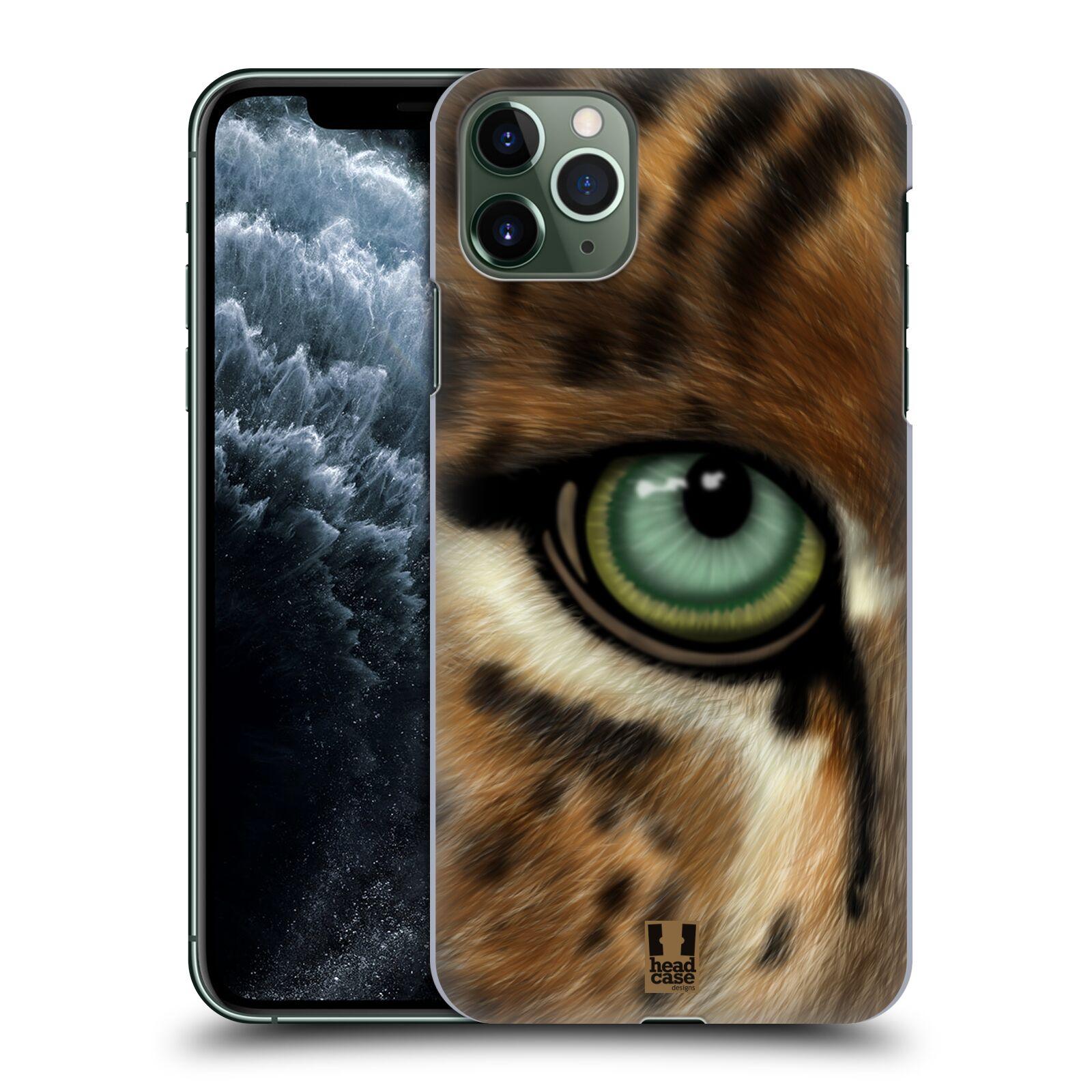Pouzdro na mobil Apple Iphone 11 PRO MAX - HEAD CASE - vzor pohled zvířete oko leopard