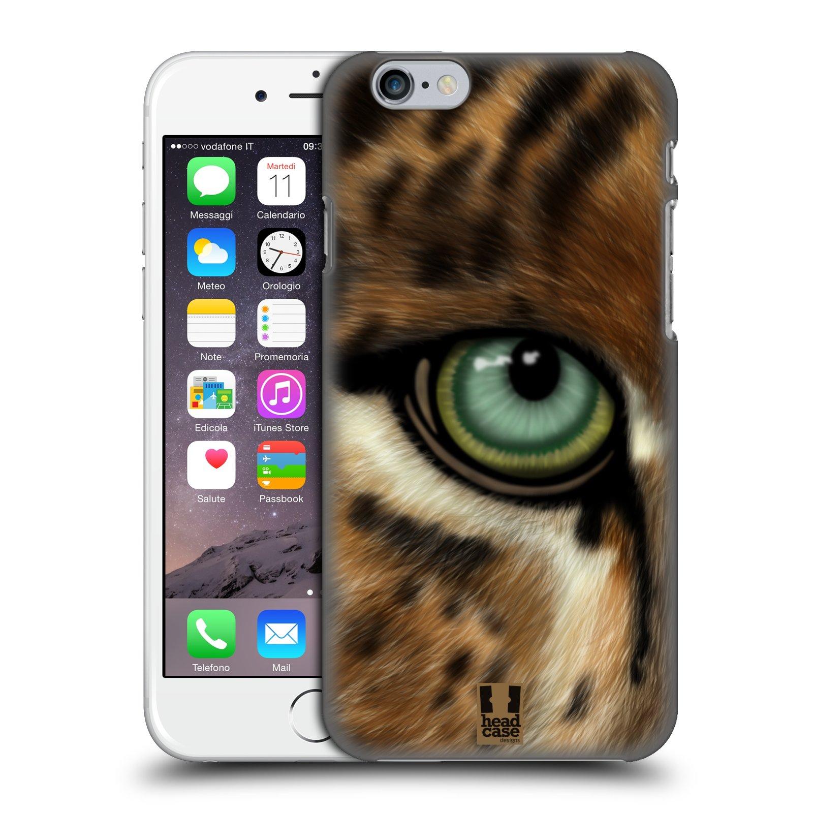 Plastové pouzdro pro mobil Apple Iphone 6/6S vzor pohled zvířete oko leopard