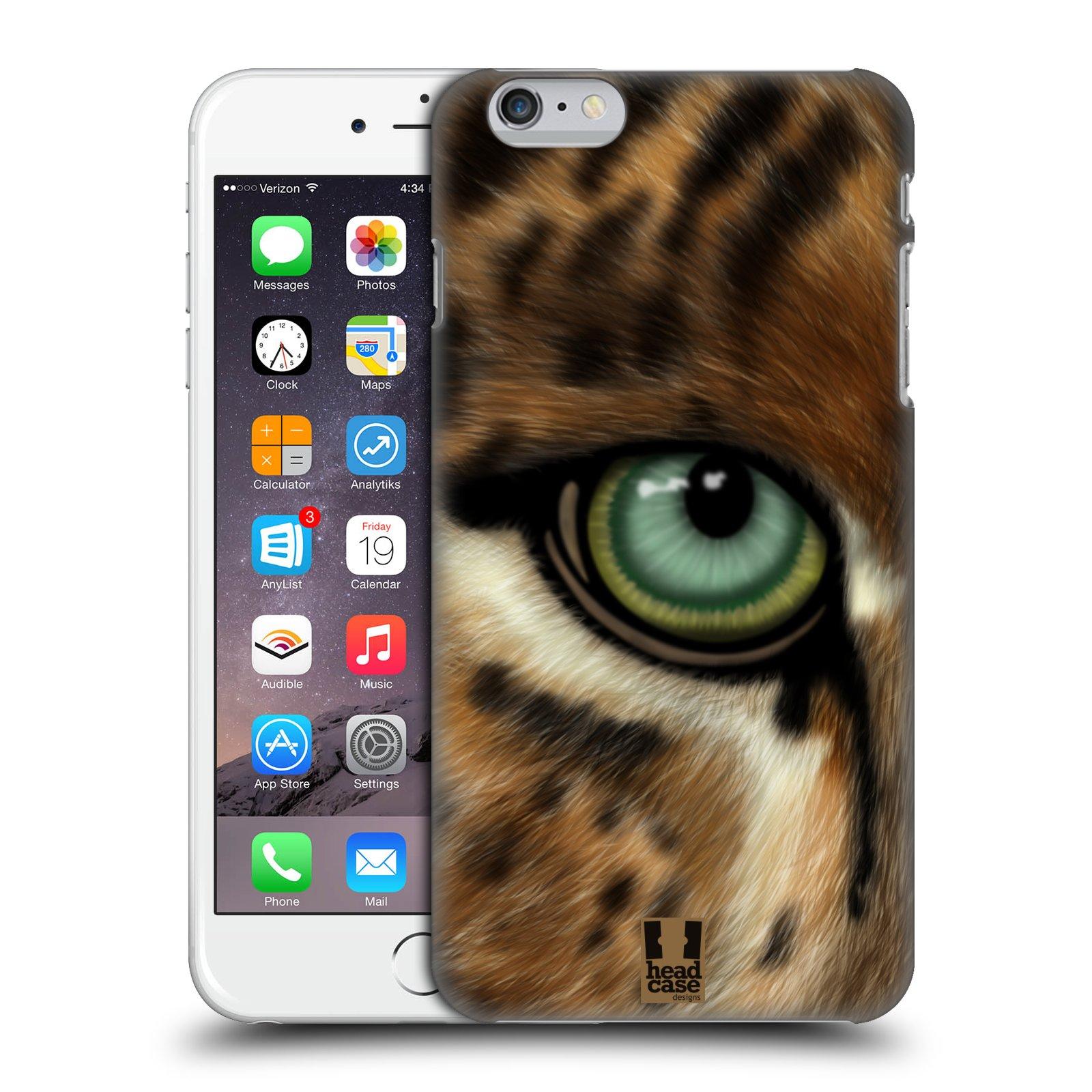 Plastové pouzdro pro mobil Apple Iphone 6 PLUS / 6S PLUS vzor pohled zvířete oko leopard