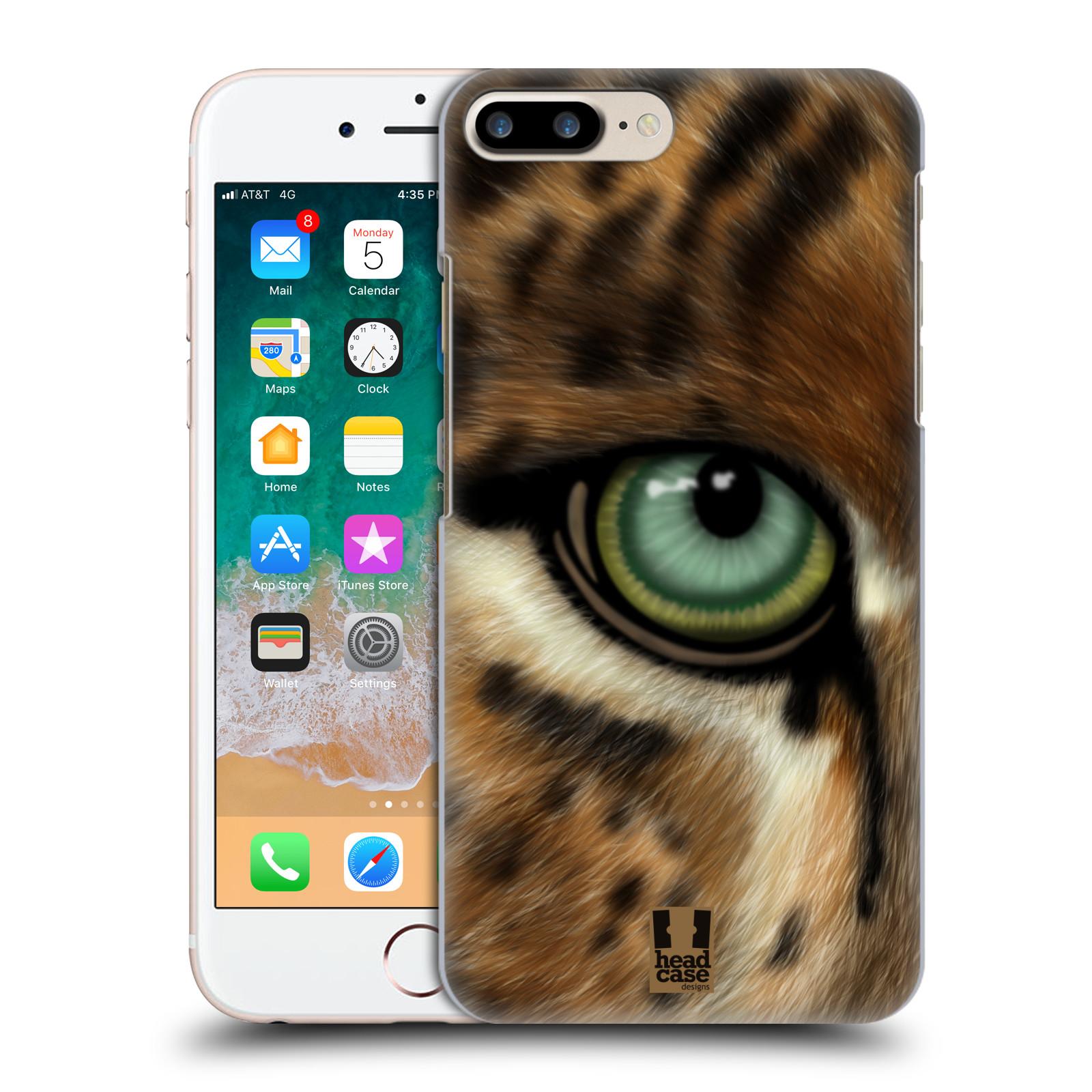 HEAD CASE plastový obal na mobil Apple Iphone 7 PLUS vzor pohled zvířete oko leopard