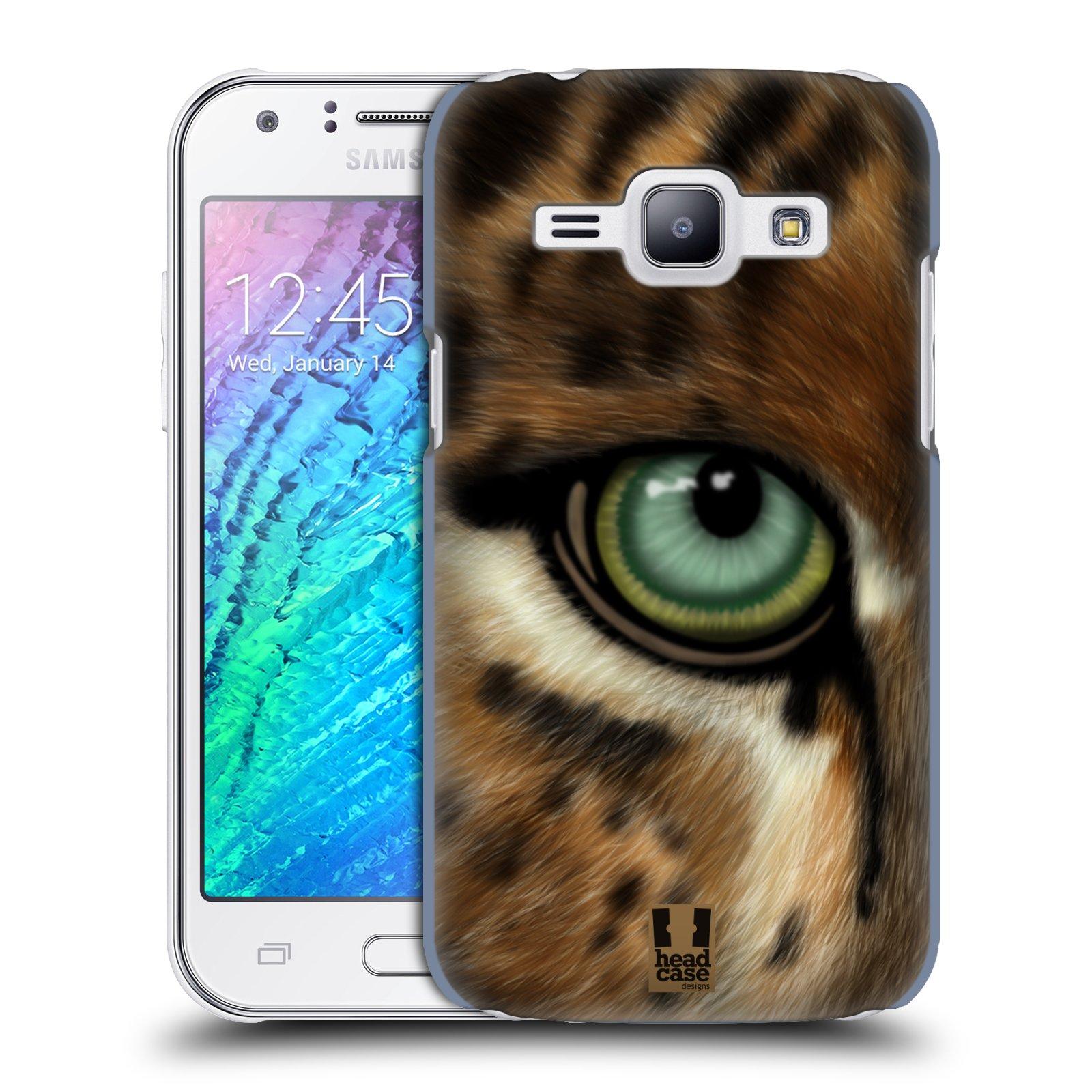 HEAD CASE plastový obal na mobil SAMSUNG Galaxy J1, J100 vzor pohled zvířete oko leopard