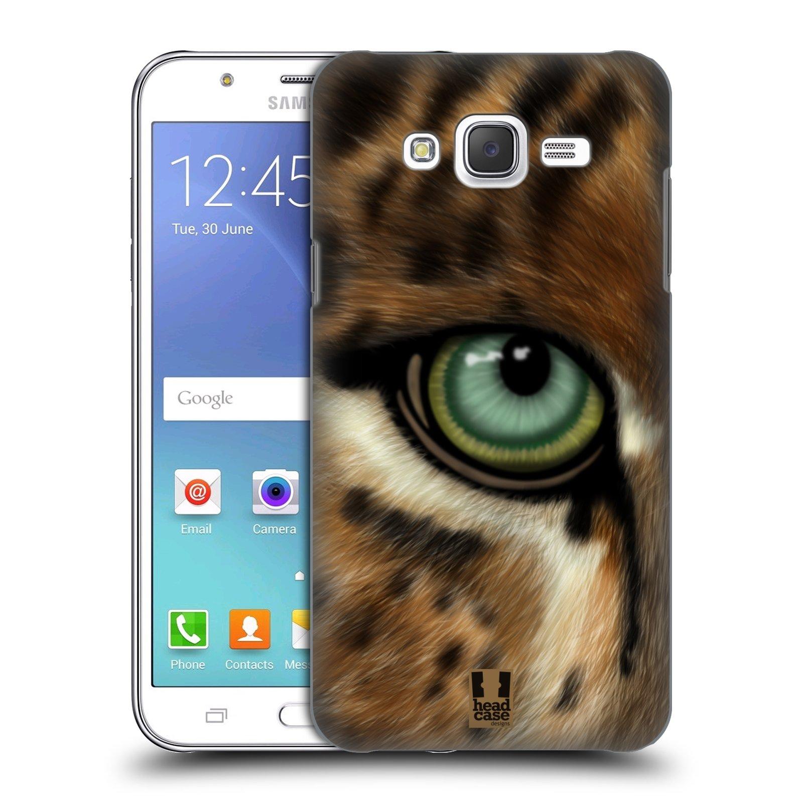 HEAD CASE plastový obal na mobil SAMSUNG Galaxy J5, J500 vzor pohled zvířete oko leopard
