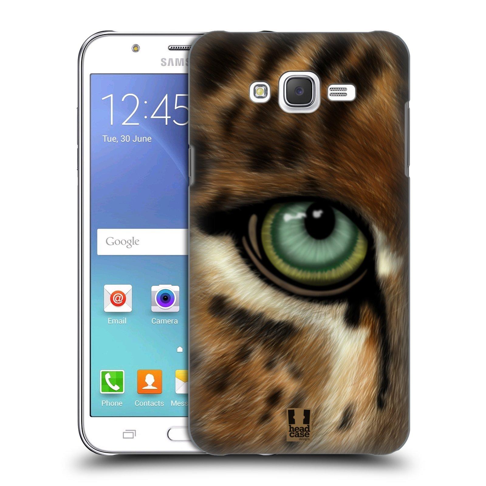 HEAD CASE plastový obal na mobil SAMSUNG Galaxy J7, J700 vzor pohled zvířete oko leopard
