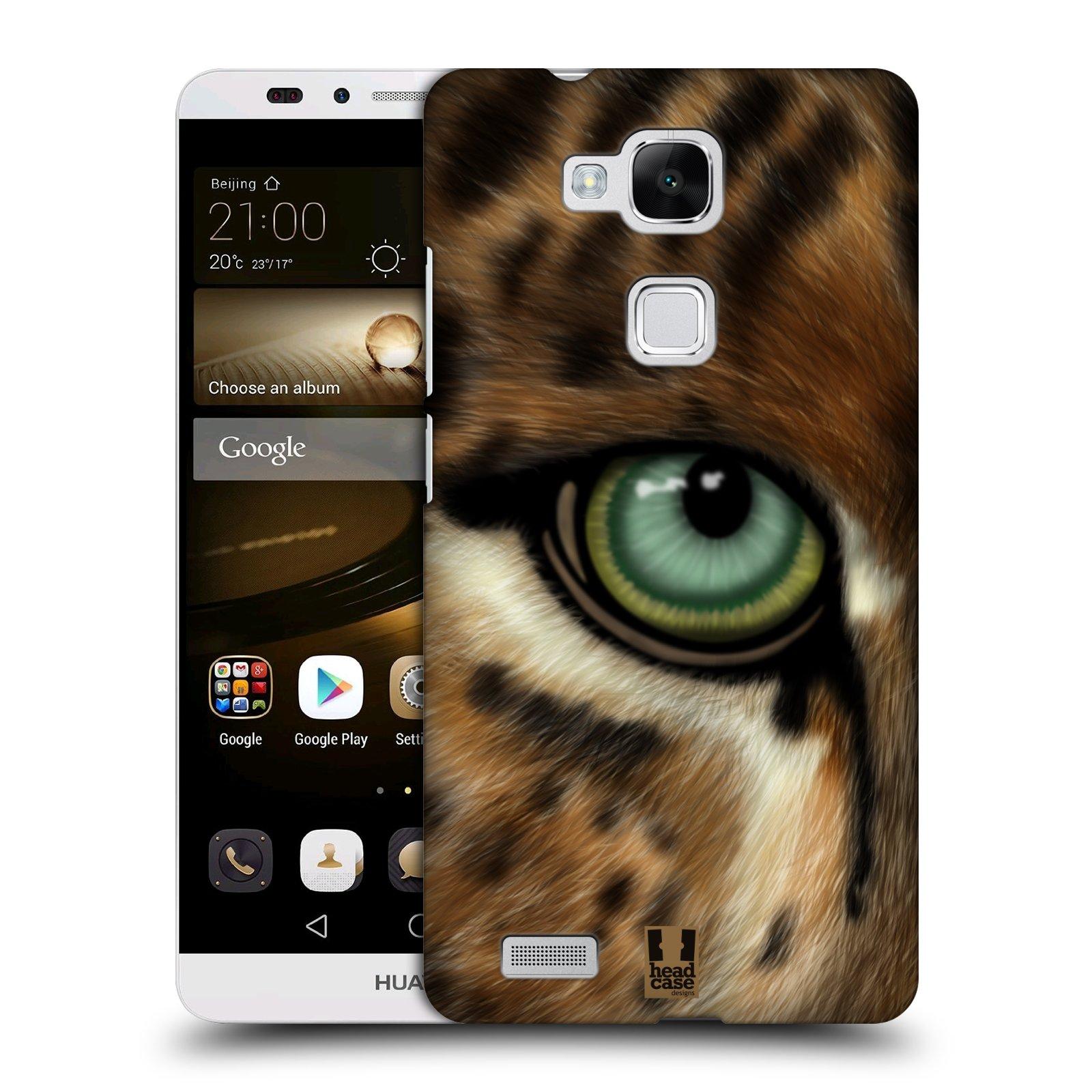 HEAD CASE plastový obal na mobil Huawei Mate 7 vzor pohled zvířete oko leopard