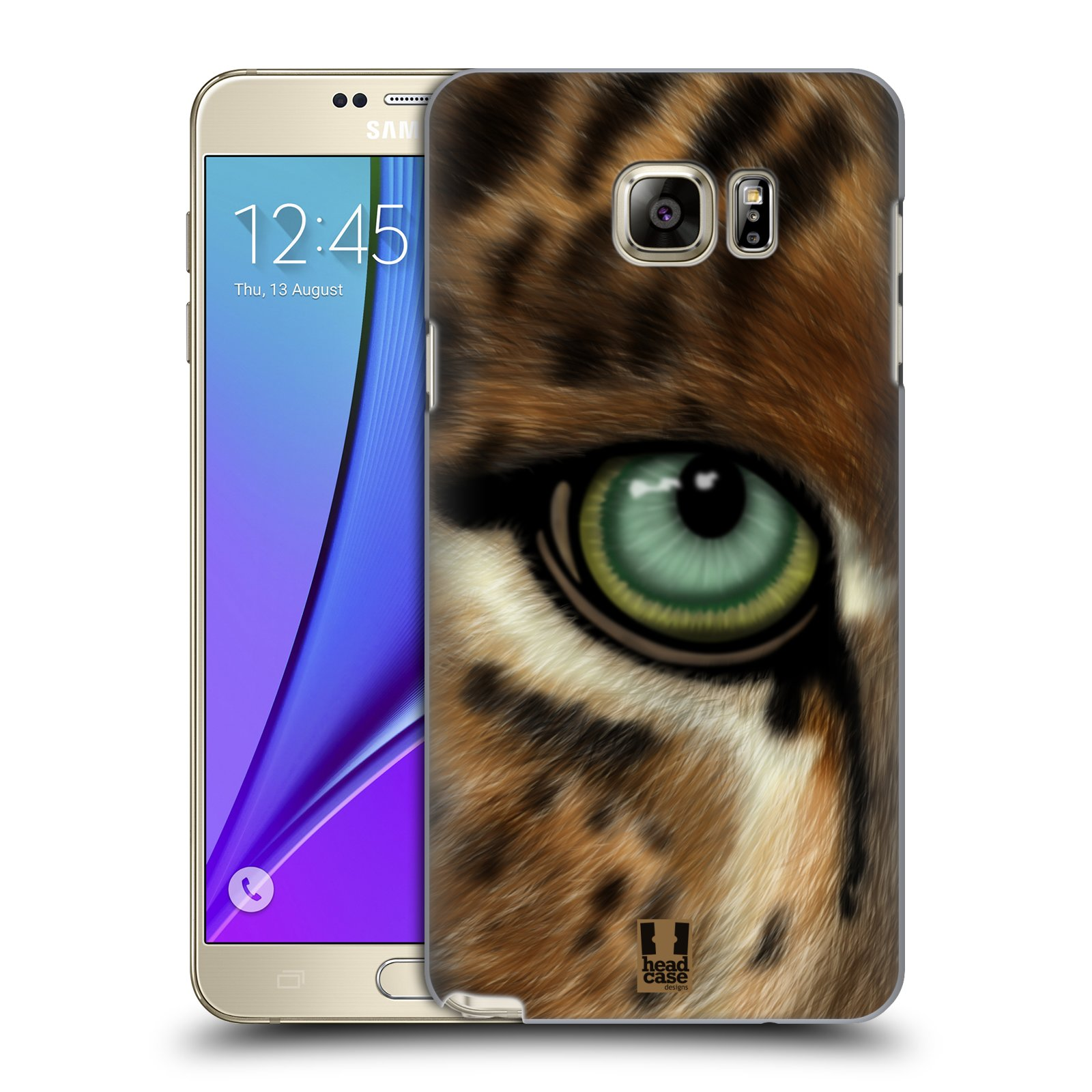 HEAD CASE plastový obal na mobil SAMSUNG Galaxy Note 5 (N920) vzor pohled zvířete oko leopard