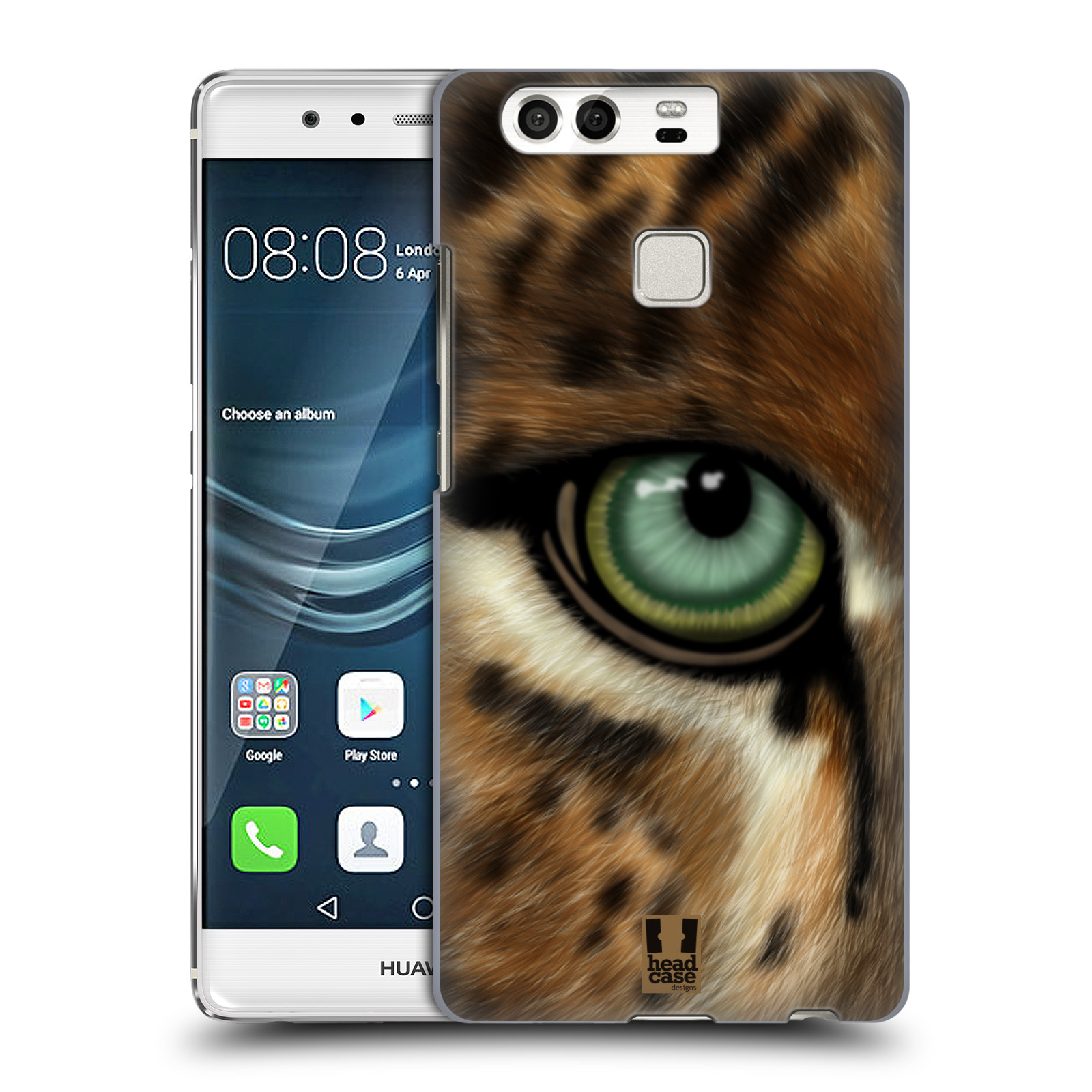 HEAD CASE plastový obal na mobil Huawei P9 / P9 DUAL SIM vzor pohled zvířete oko leopard