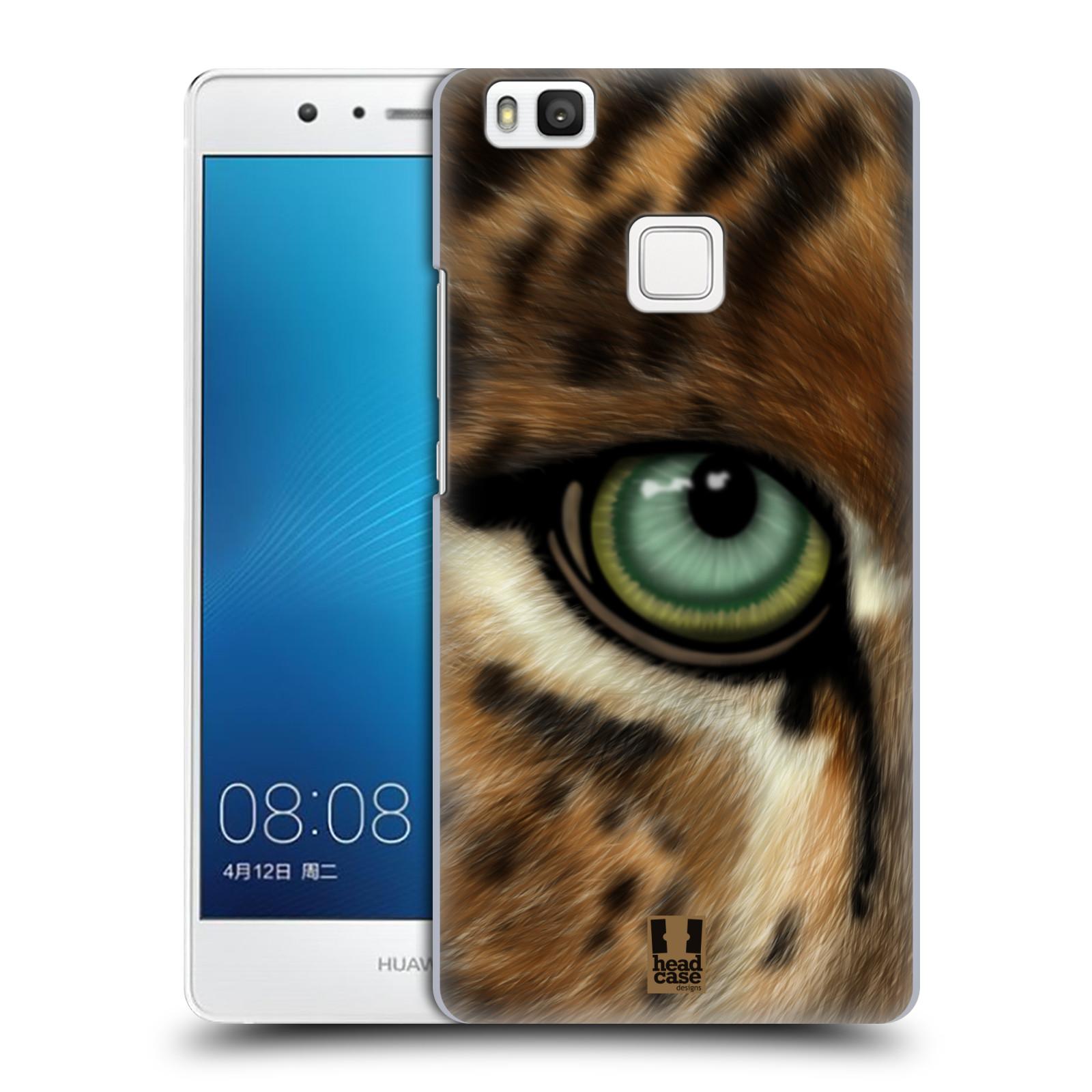 HEAD CASE plastový obal na mobil Huawei P9 LITE / P9 LITE DUAL SIM vzor pohled zvířete oko leopard