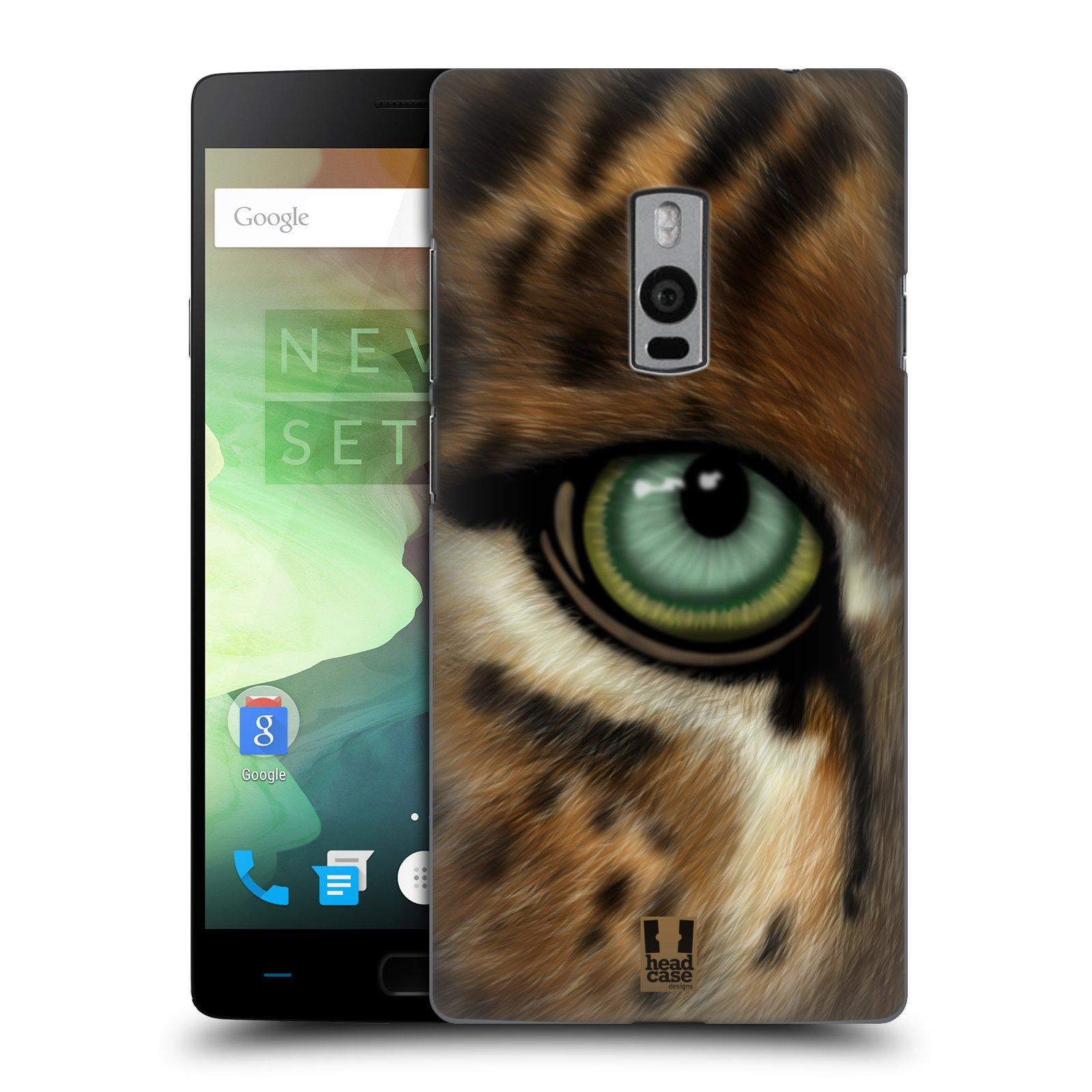 HEAD CASE pevný plastový obal na mobil OnePlus 2  ( TWO ) vzor pohled zvířete oko leopard