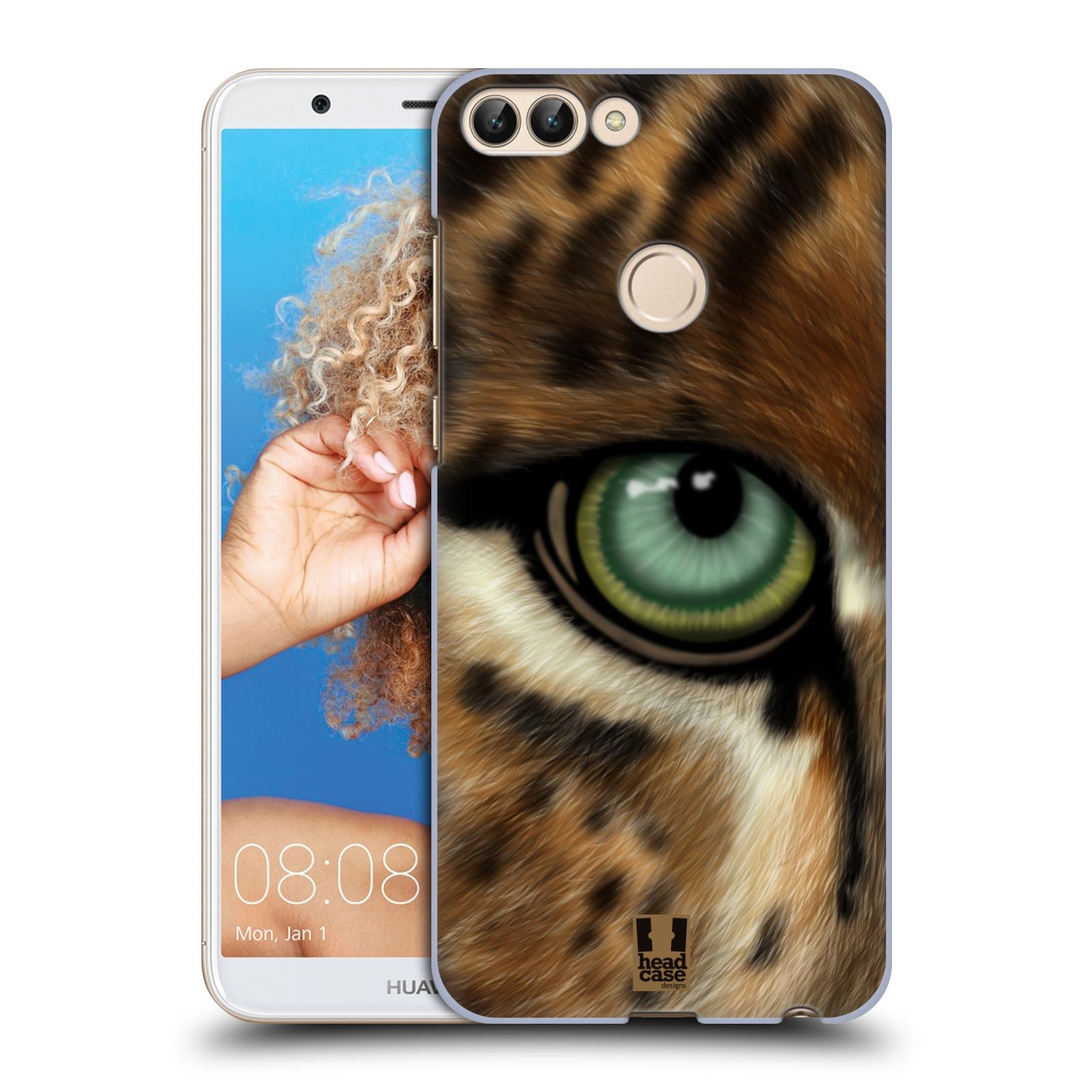 HEAD CASE plastový obal na mobil Huawei P Smart vzor pohled zvířete oko leopard