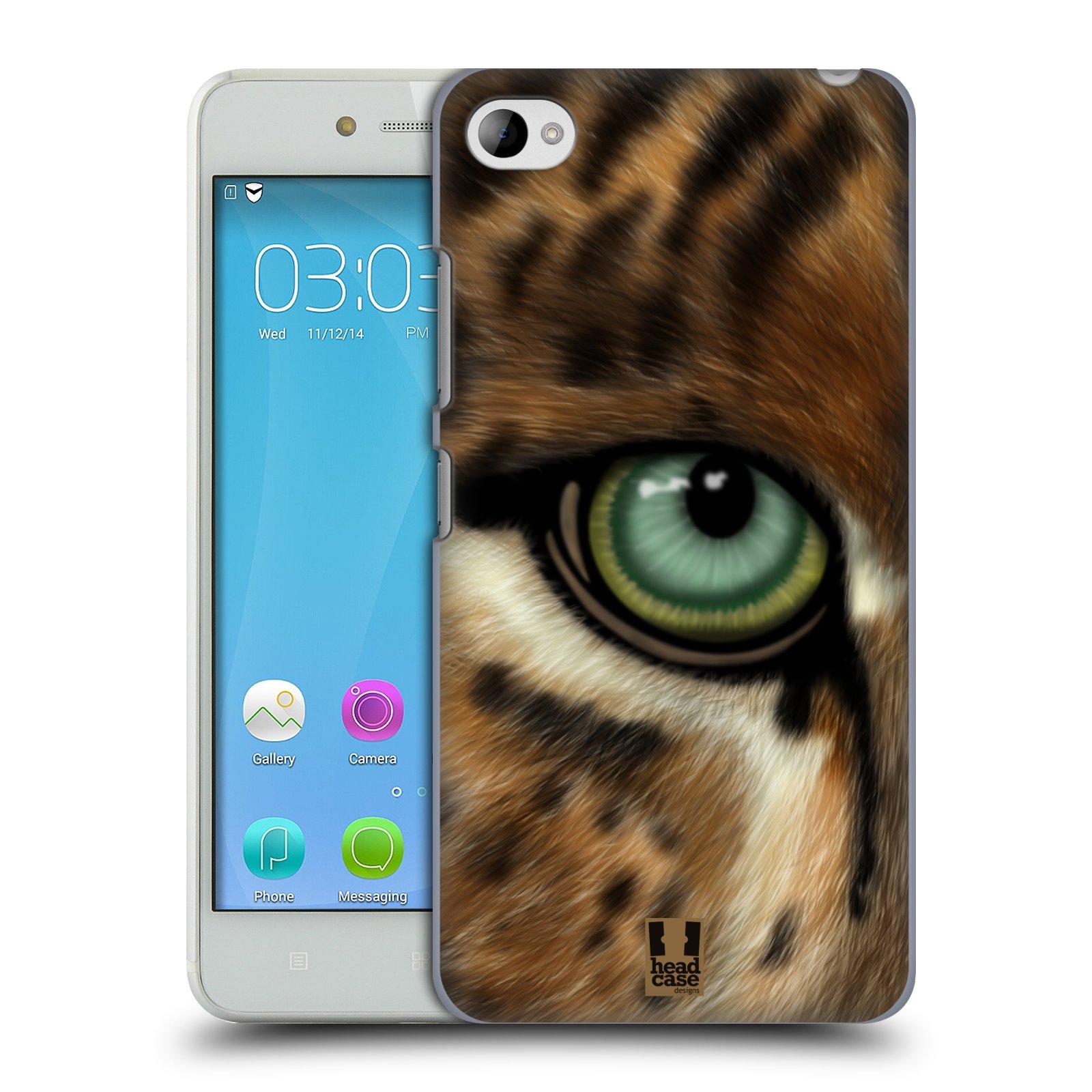 HEAD CASE pevný plastový obal na mobil LENOVO S90 vzor pohled zvířete oko leopard