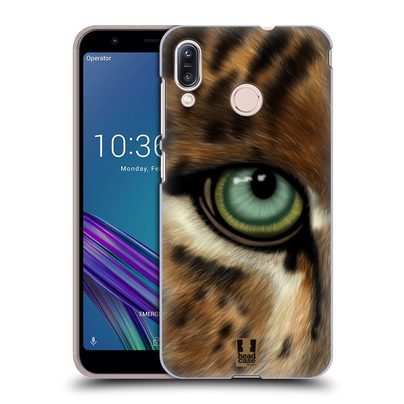 Pouzdro na mobil Asus Zenfone Max M1 (ZB555KL) - HEAD CASE - vzor pohled zvířete oko leopard