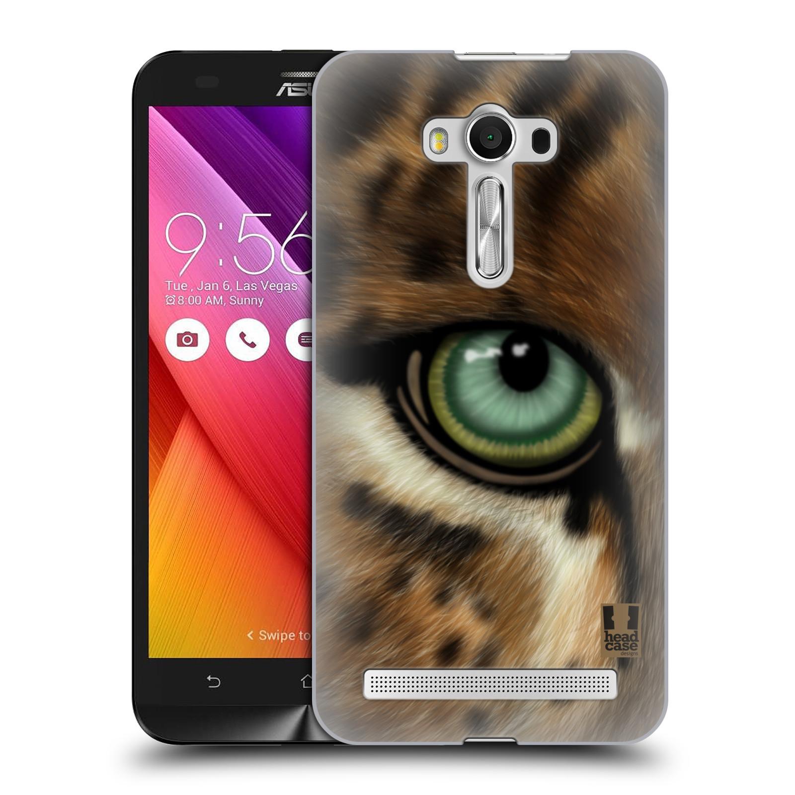 HEAD CASE plastový obal na mobil Asus Zenfone 2 LASER (5,5 displej ZE550KL) vzor pohled zvířete oko leopard