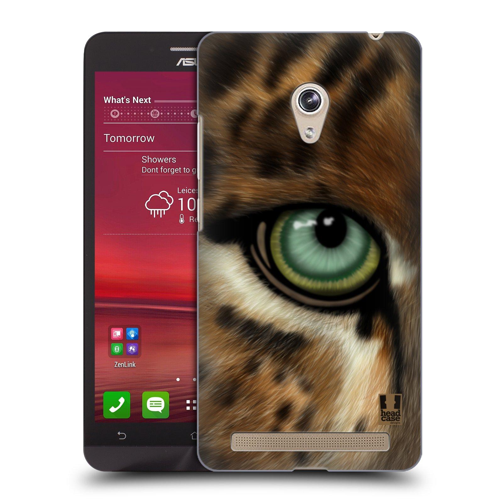 HEAD CASE plastový obal na mobil Asus Zenfone 6 vzor pohled zvířete oko leopard
