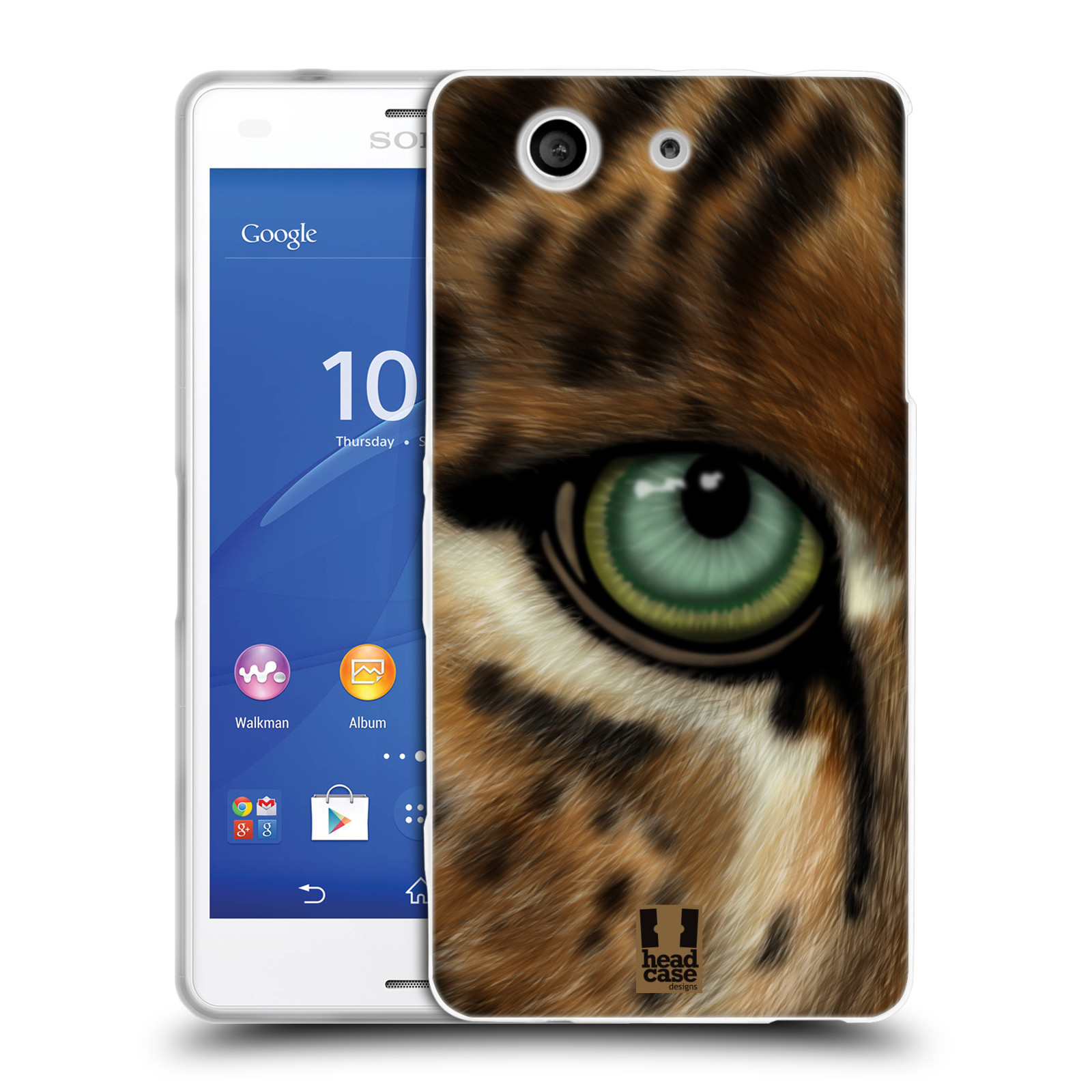 HEAD CASE silikonový obal na mobil Sony Xperia Z3 COMPACT (D5803) vzor pohled zvířete oko leopard