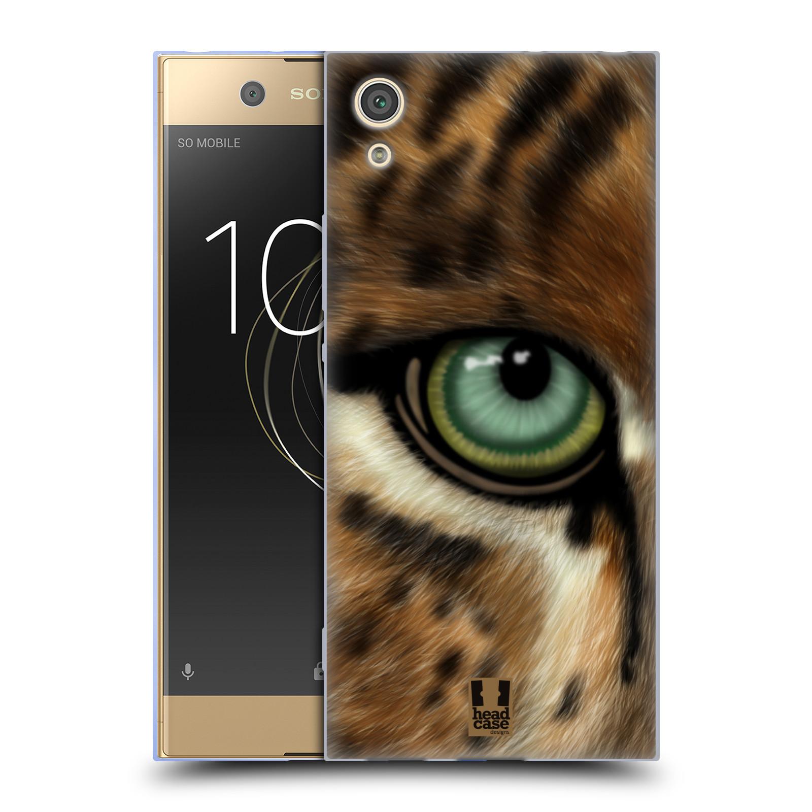 HEAD CASE silikonový obal na mobil Sony Xperia XA1 / XA1 DUAL SIM vzor pohled zvířete oko leopard
