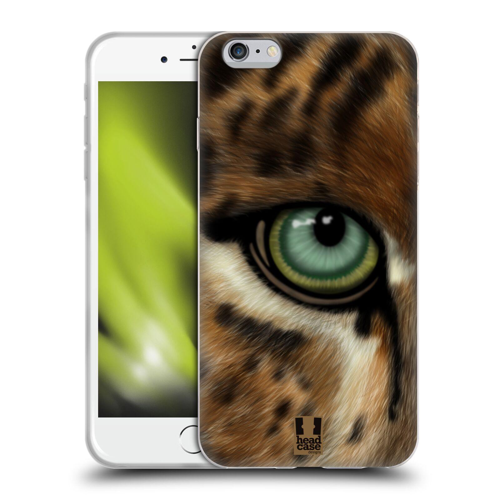 HEAD CASE silikonový obal na mobil Apple Iphone 6 PLUS/ 6S PLUS vzor pohled zvířete oko leopard