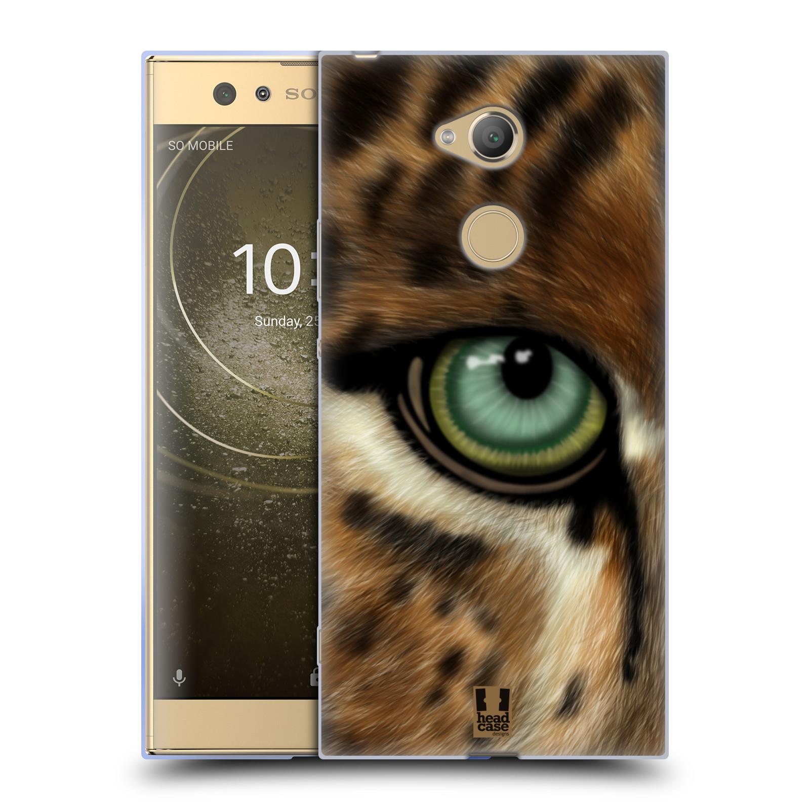 Pouzdro na mobil Sony Xperia XA2 Ultra vzor pohled zvířete oko leopard