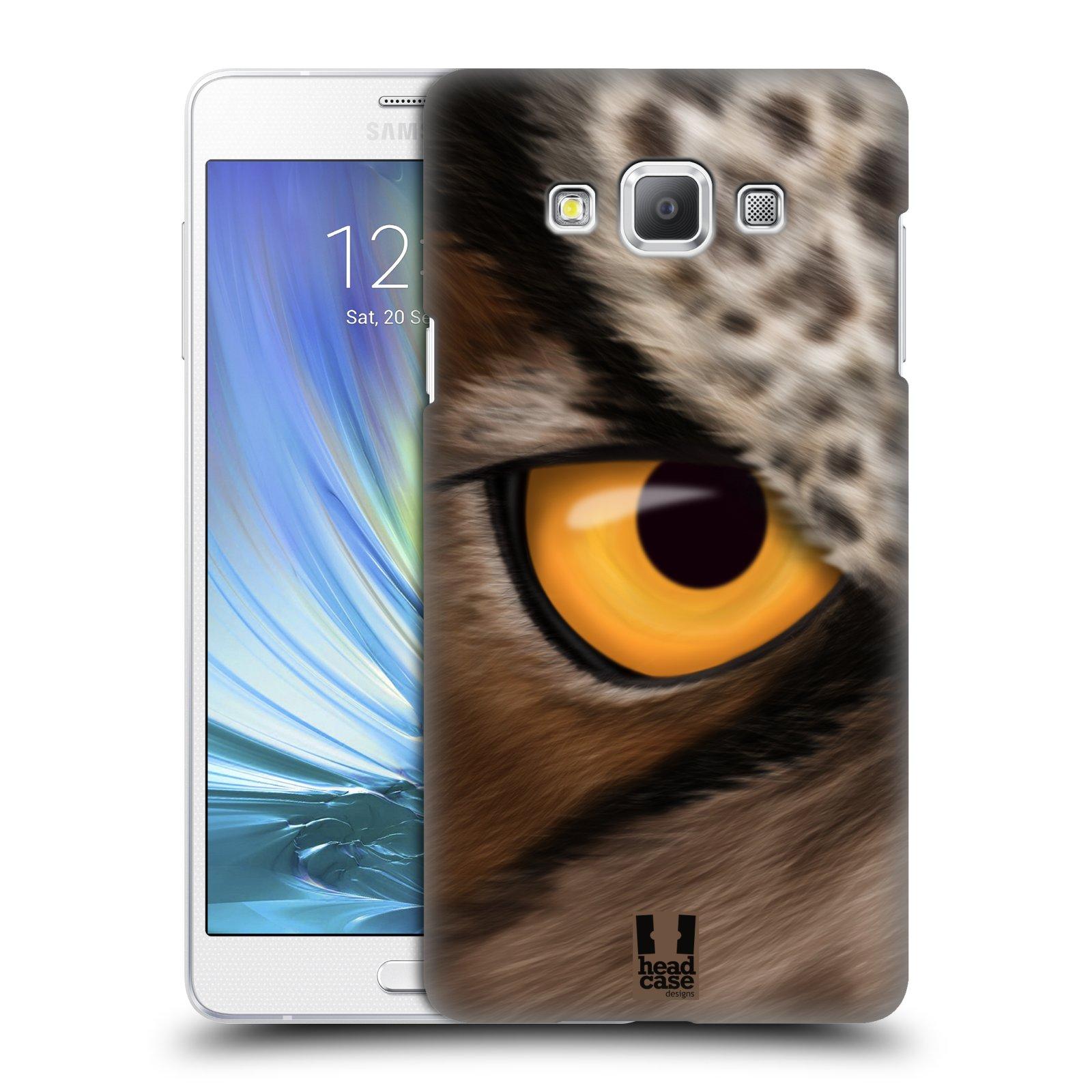 HEAD CASE plastový obal na mobil SAMSUNG GALAXY A7 vzor pohled zvířete oko sova