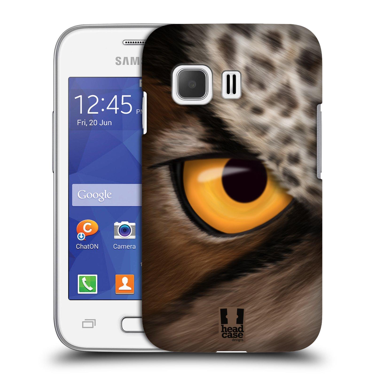 HEAD CASE plastový obal na mobil SAMSUNG Galaxy Young 2 (G130) vzor pohled zvířete oko sova