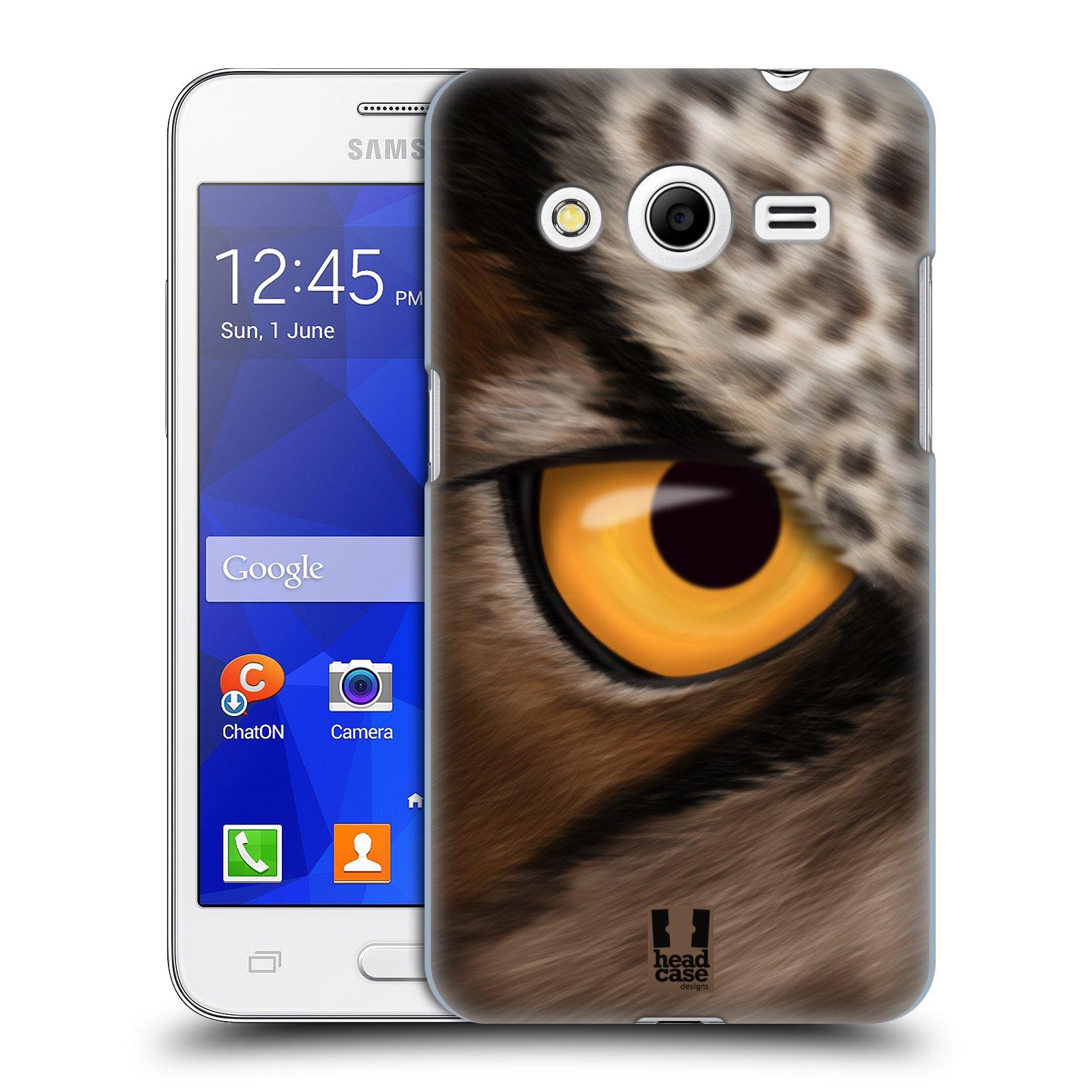 HEAD CASE plastový obal na mobil SAMSUNG GALAXY Core 2 (G355H) vzor pohled zvířete oko sova