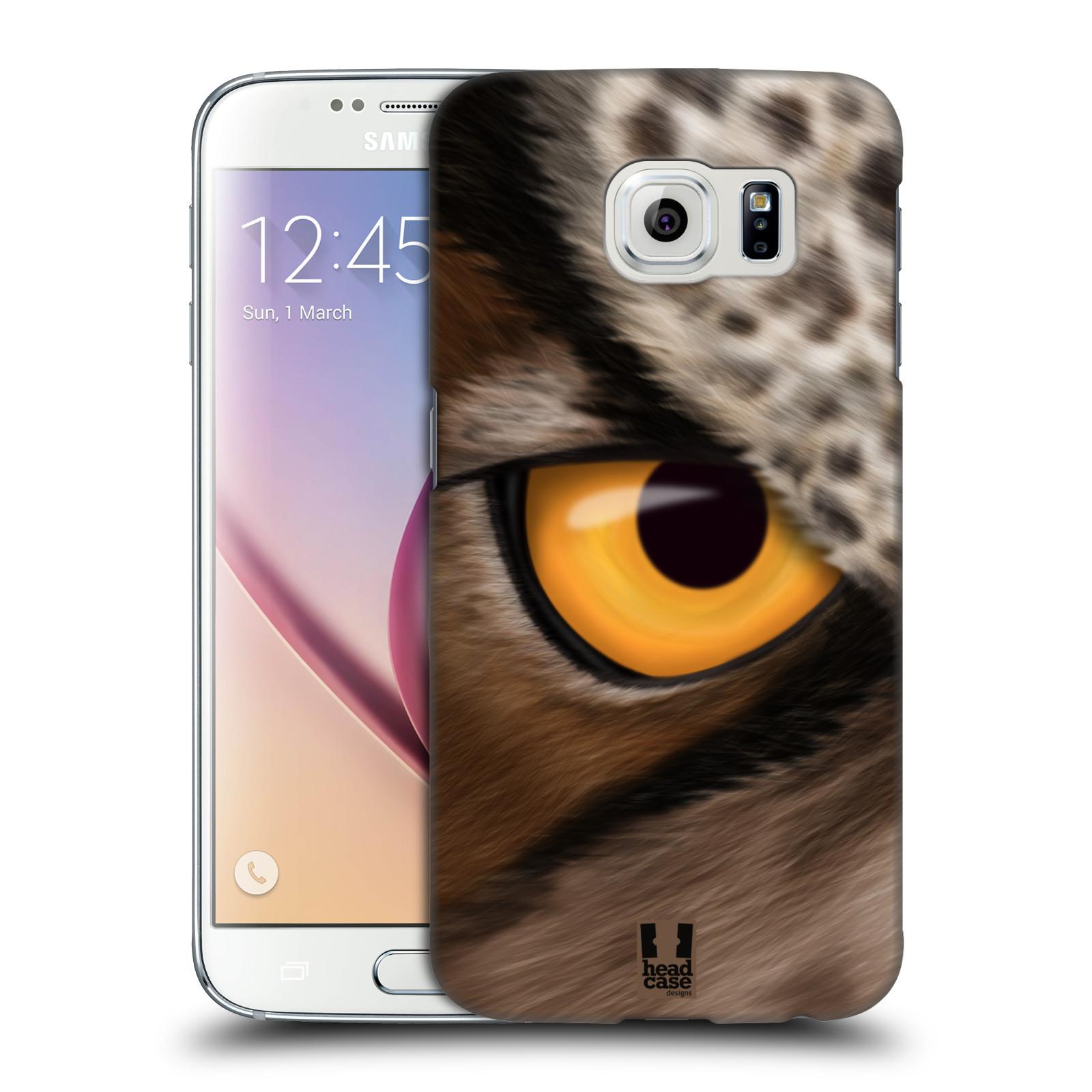 HEAD CASE plastový obal na mobil SAMSUNG Galaxy S6 (G9200, G920F) vzor pohled zvířete oko sova