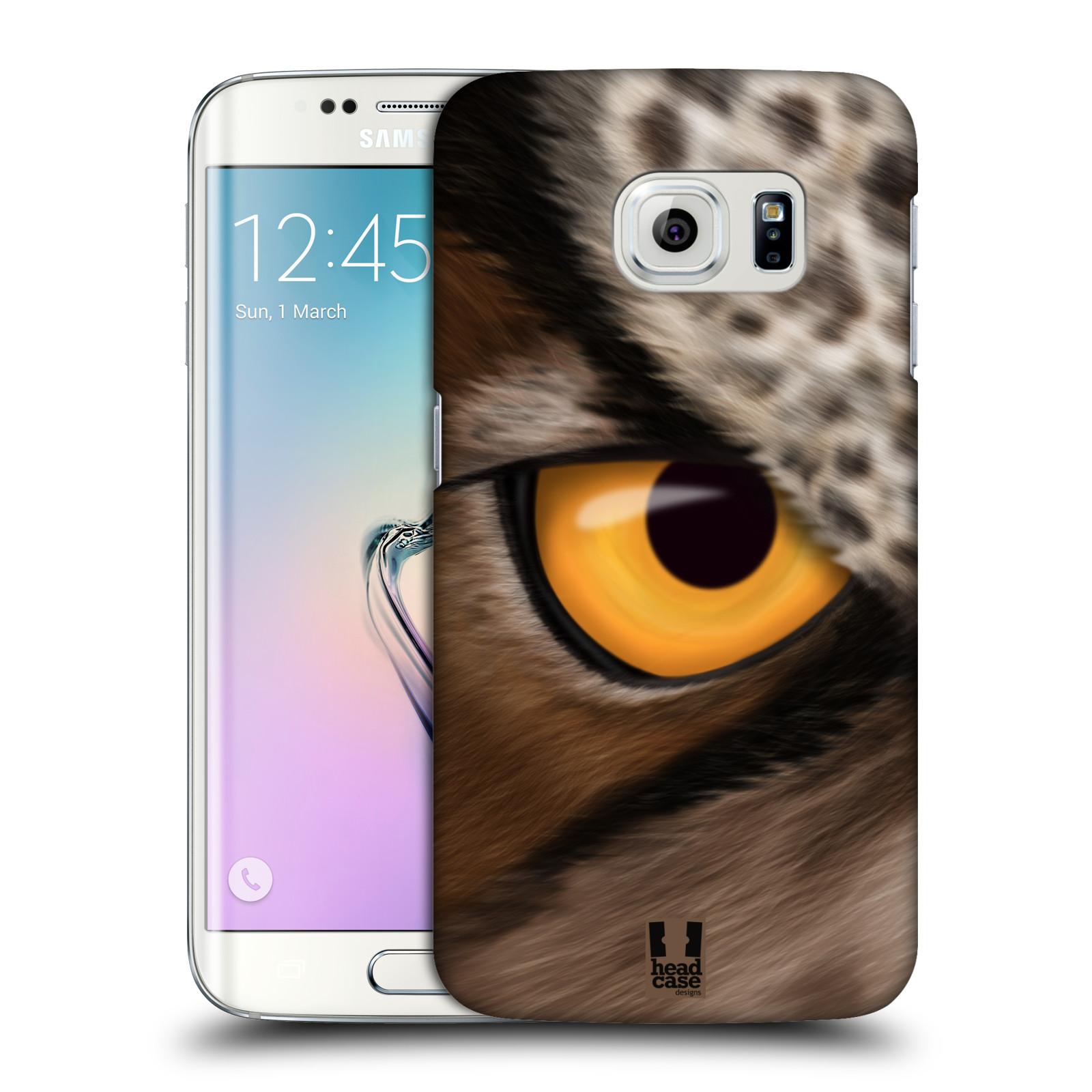 HEAD CASE plastový obal na mobil SAMSUNG Galaxy S6 EDGE (G9250, G925, G925F) vzor pohled zvířete oko sova