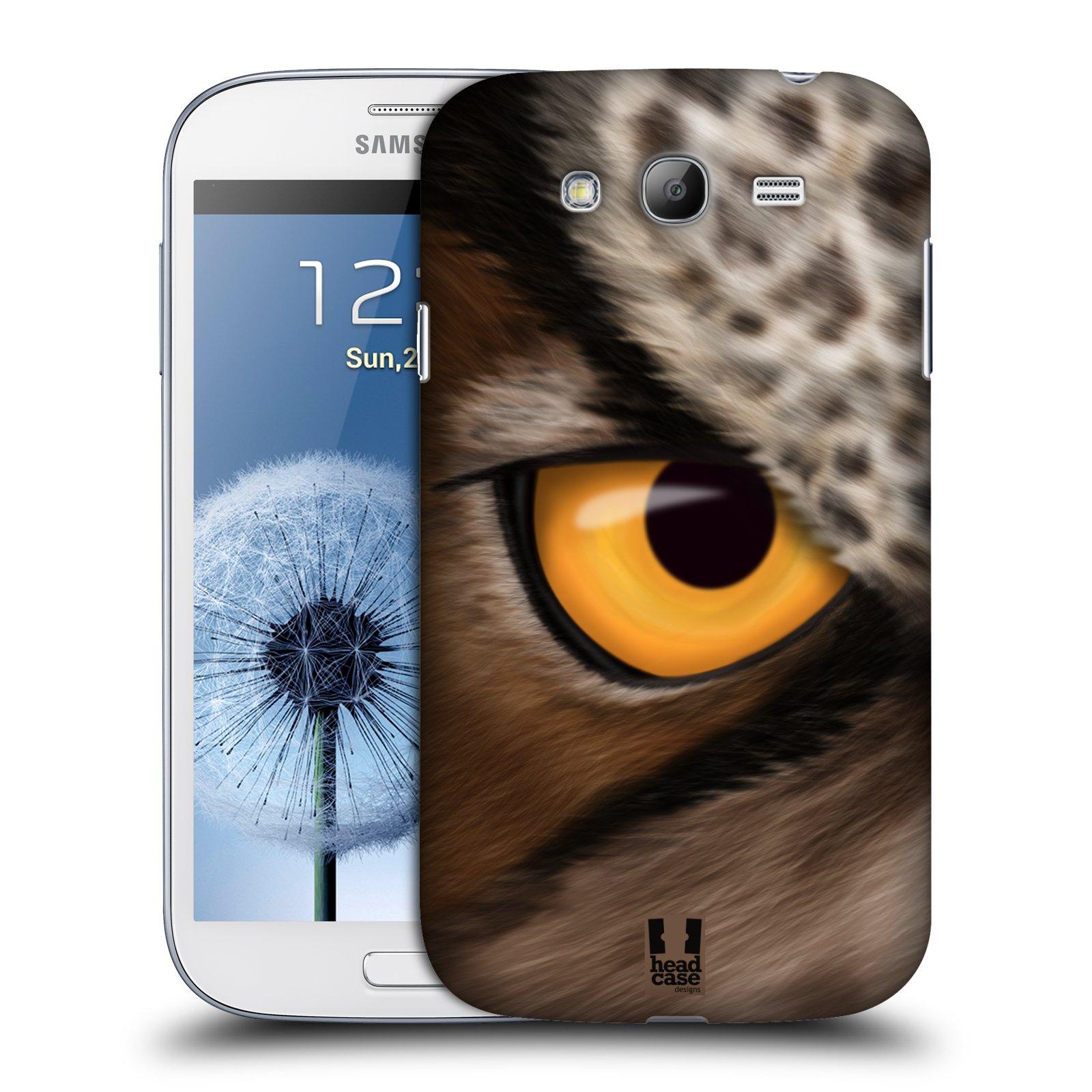 HEAD CASE plastový obal na mobil SAMSUNG GALAXY Grand i9080 vzor pohled zvířete oko sova