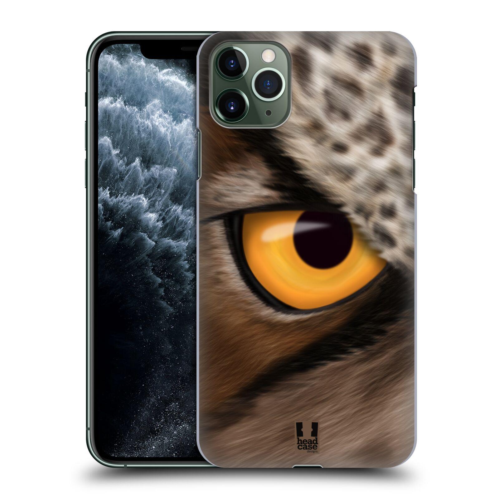 Pouzdro na mobil Apple Iphone 11 PRO MAX - HEAD CASE - vzor pohled zvířete oko sova