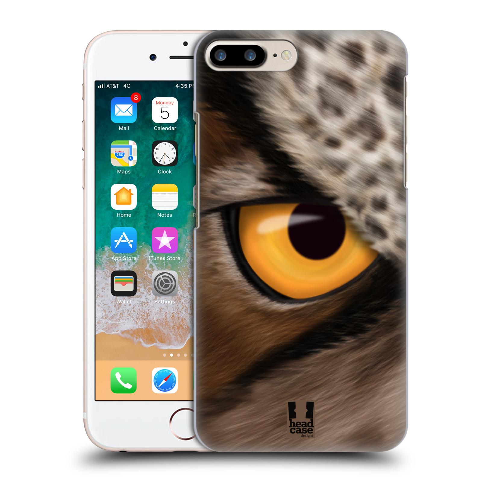 HEAD CASE plastový obal na mobil Apple Iphone 7 PLUS vzor pohled zvířete oko sova