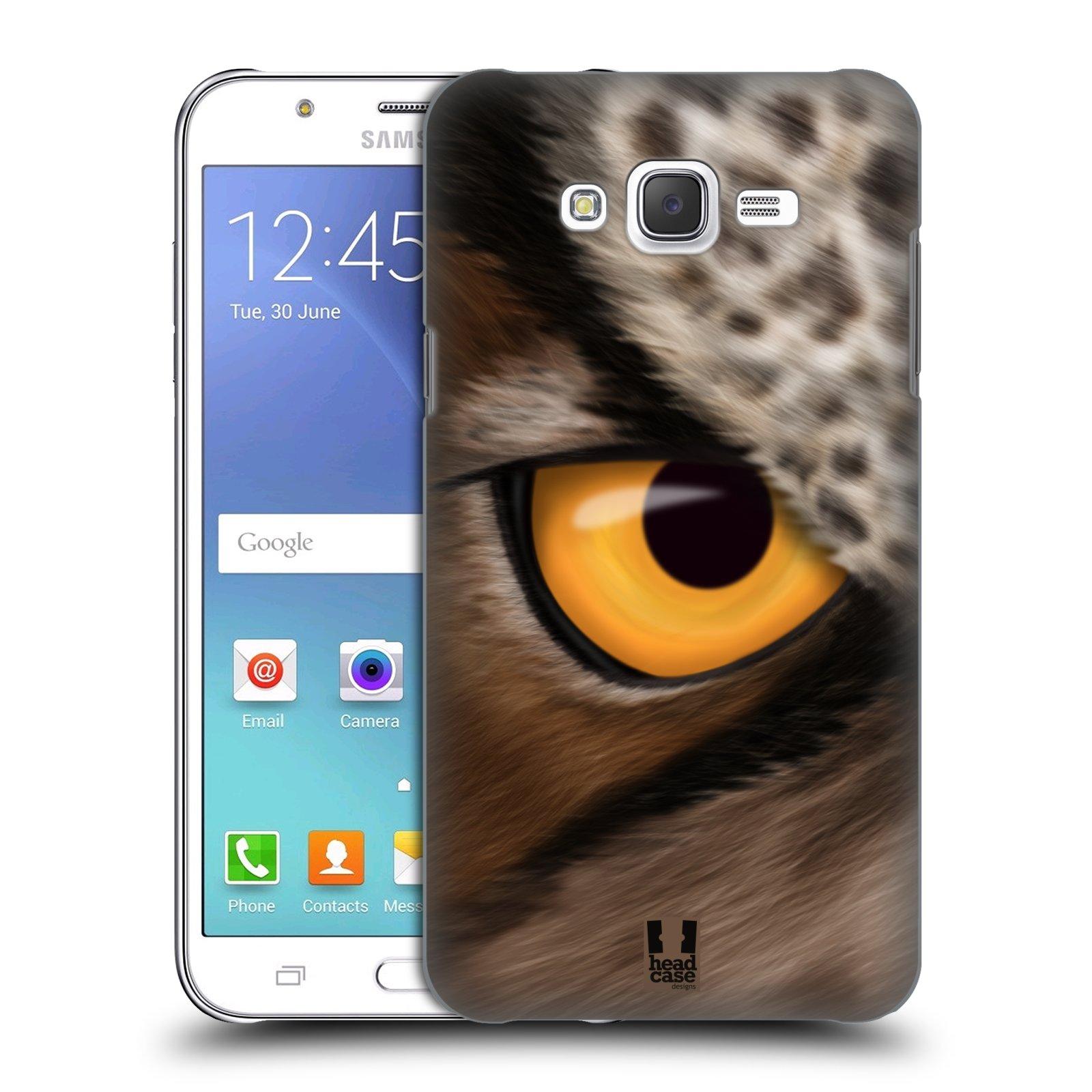 HEAD CASE plastový obal na mobil SAMSUNG Galaxy J7, J700 vzor pohled zvířete oko sova