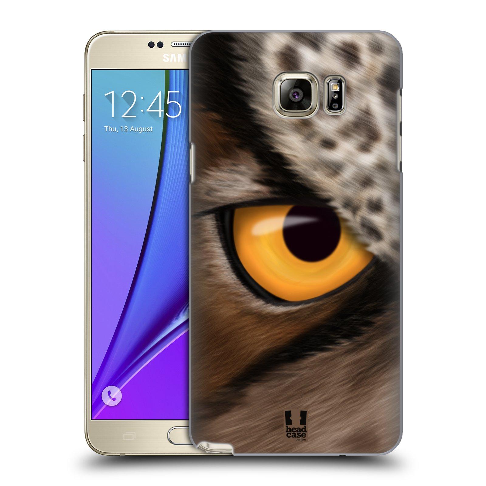 HEAD CASE plastový obal na mobil SAMSUNG Galaxy Note 5 (N920) vzor pohled zvířete oko sova