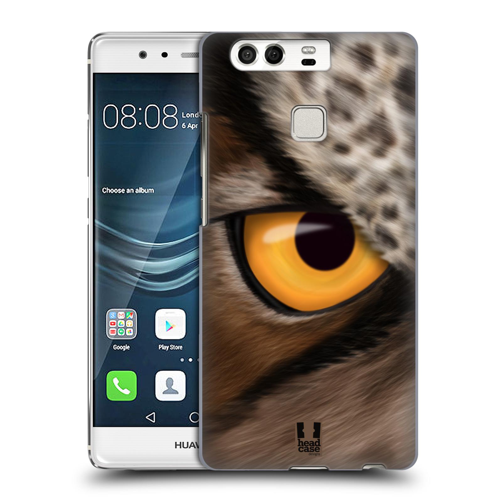 HEAD CASE plastový obal na mobil Huawei P9 / P9 DUAL SIM vzor pohled zvířete oko sova