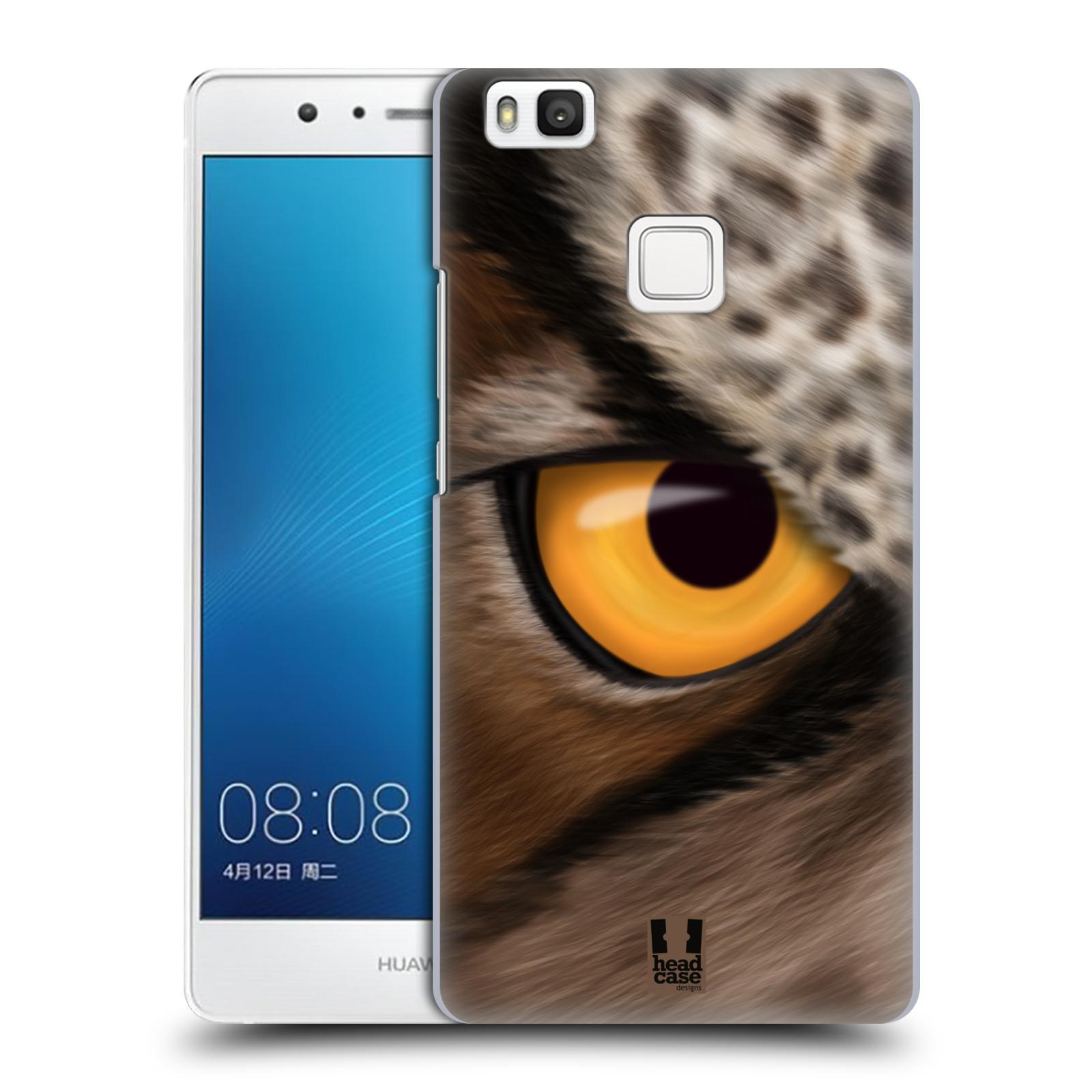 HEAD CASE plastový obal na mobil Huawei P9 LITE / P9 LITE DUAL SIM vzor pohled zvířete oko sova