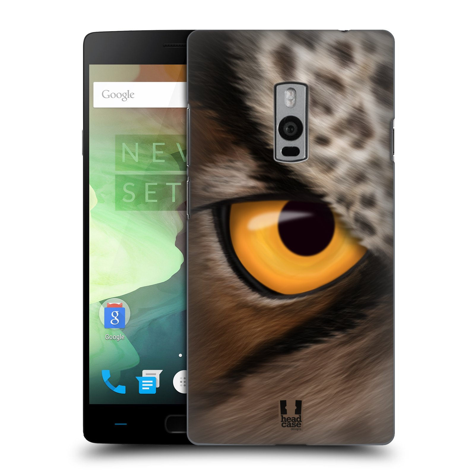 HEAD CASE pevný plastový obal na mobil OnePlus 2  ( TWO ) vzor pohled zvířete oko sova