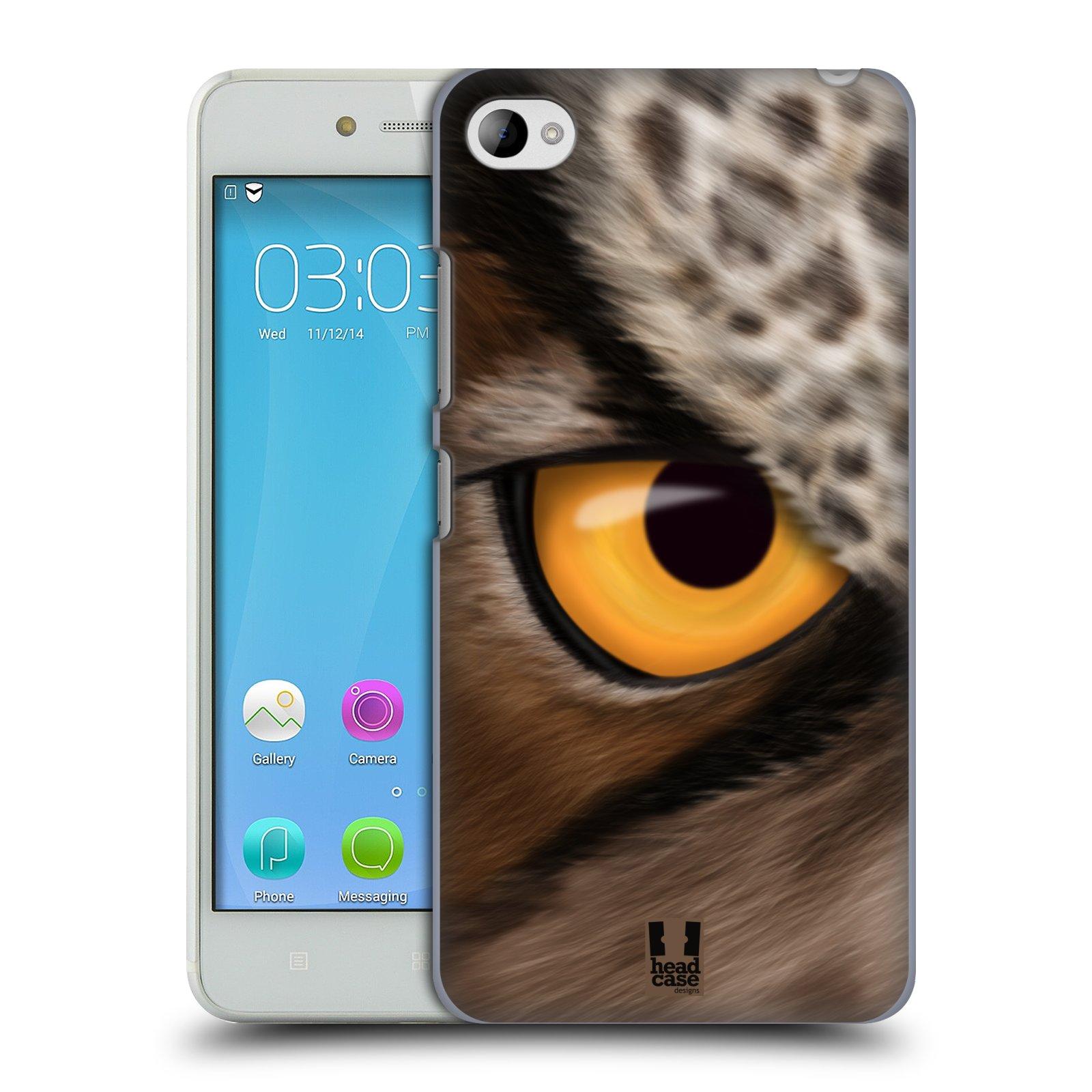 HEAD CASE pevný plastový obal na mobil LENOVO S90 vzor pohled zvířete oko sova