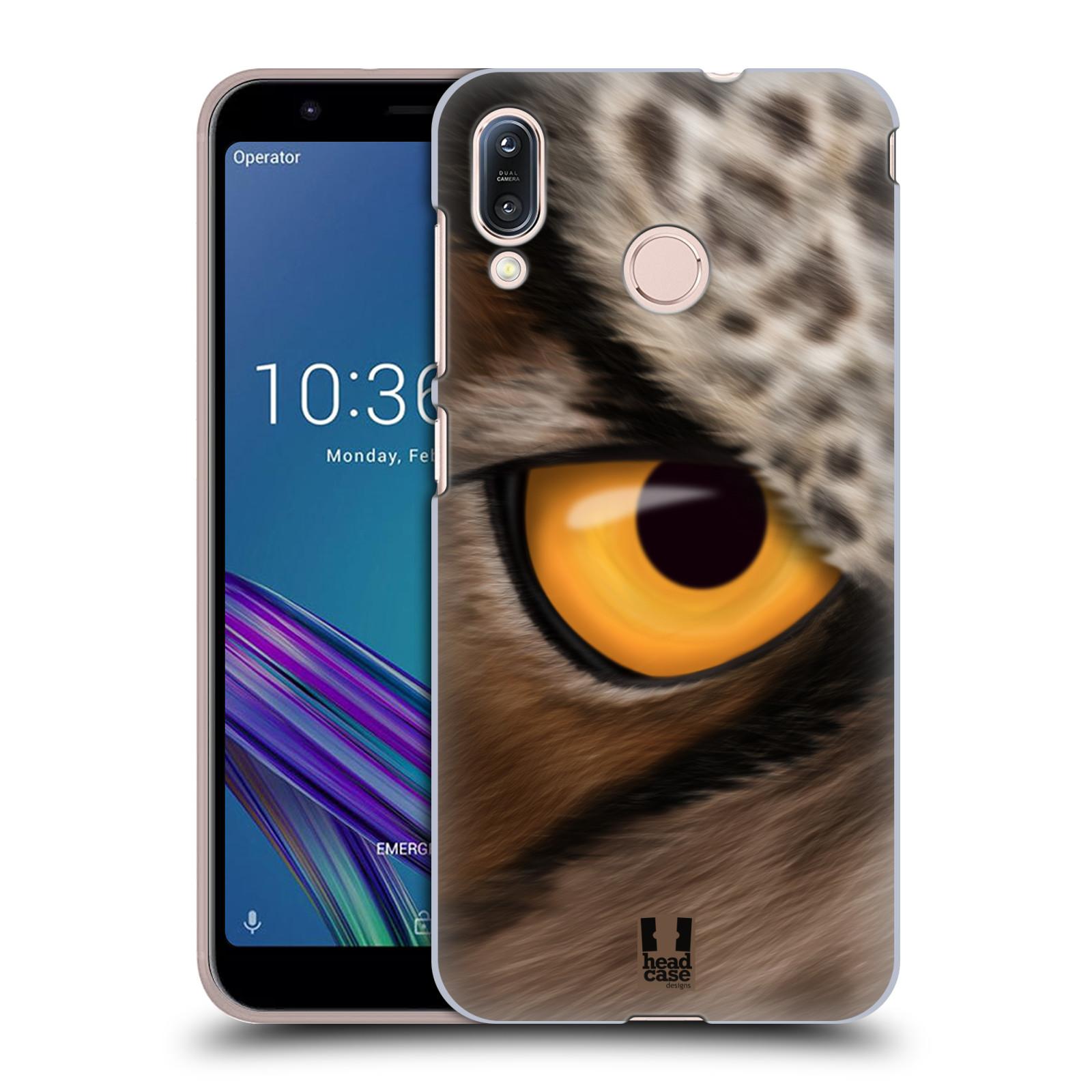 Pouzdro na mobil Asus Zenfone Max M1 (ZB555KL) - HEAD CASE - vzor pohled zvířete oko sova