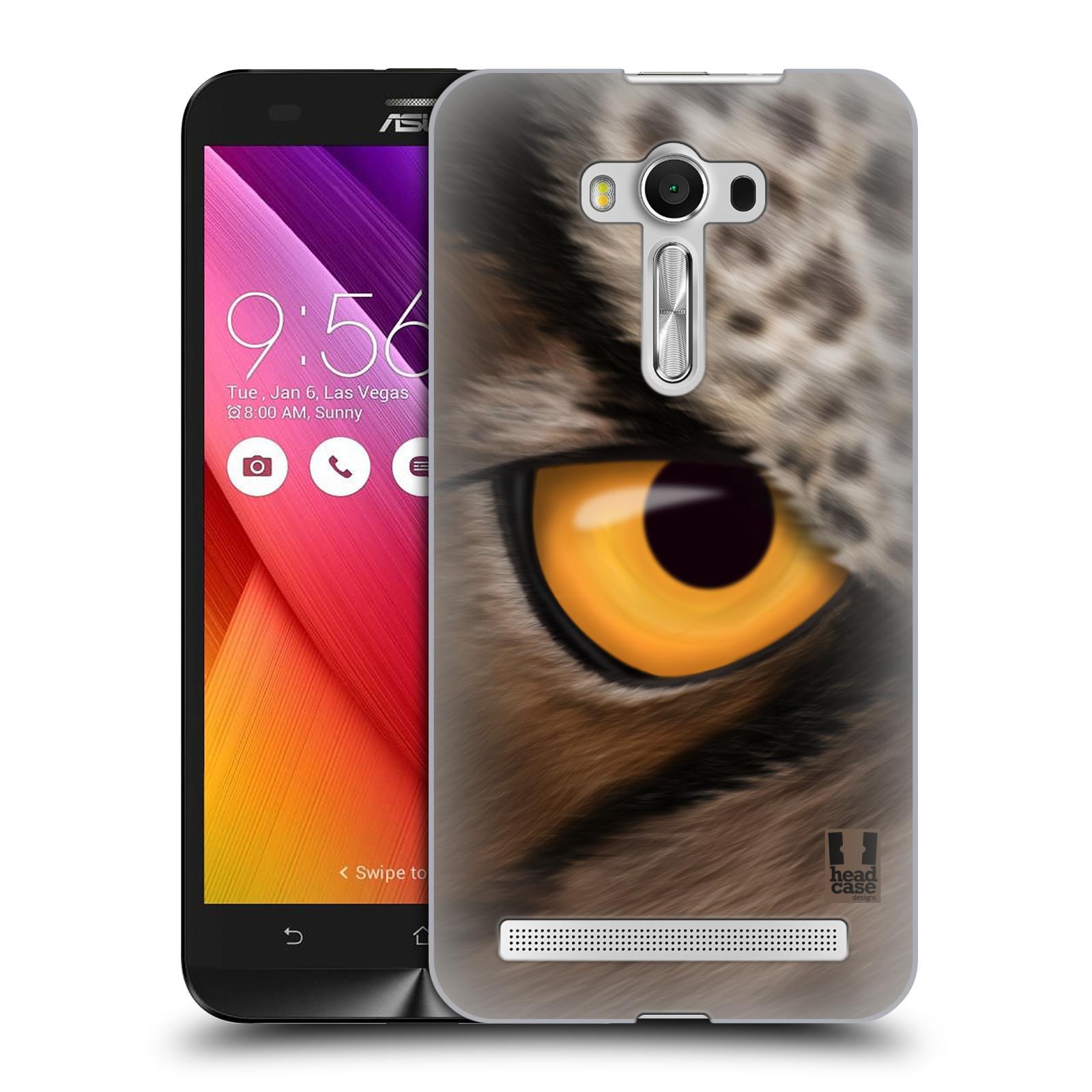 HEAD CASE plastový obal na mobil Asus Zenfone 2 LASER (5,5 displej ZE550KL) vzor pohled zvířete oko sova