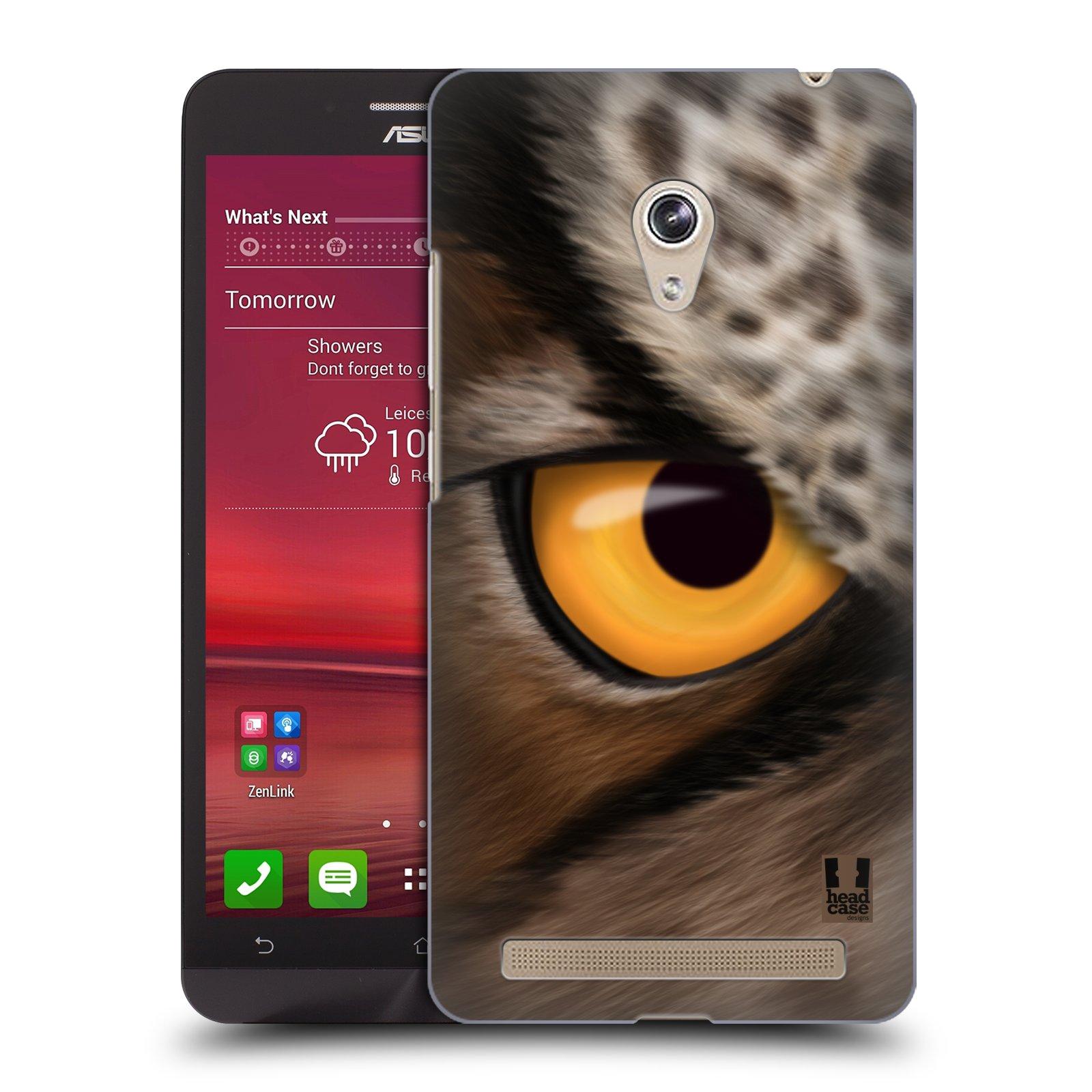 HEAD CASE plastový obal na mobil Asus Zenfone 6 vzor pohled zvířete oko sova