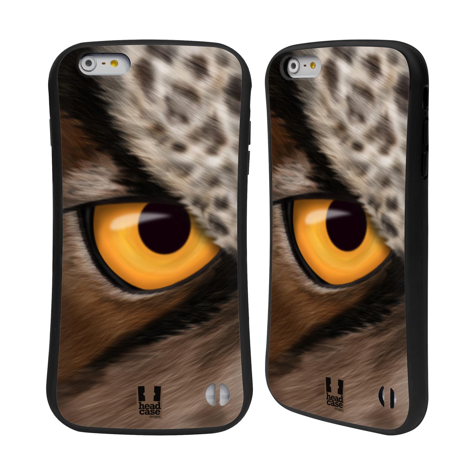 HEAD CASE silikon/plast odolný obal na mobil Apple Iphone 6 PLUS / 6S PLUS vzor pohled zvířete oko sova