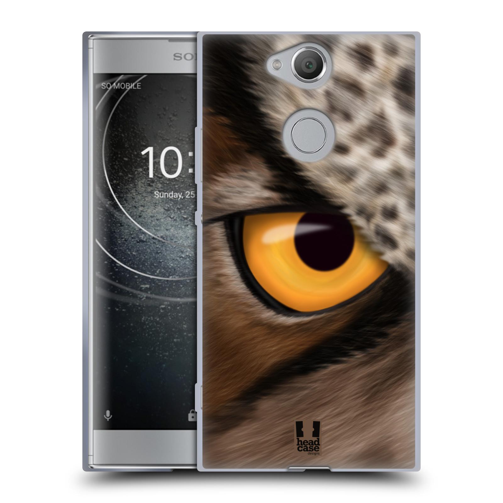 Pouzdro na mobil Sony Xperia XA2 (DUAL SIM, SINGLE SIM) vzor pohled zvířete oko sova