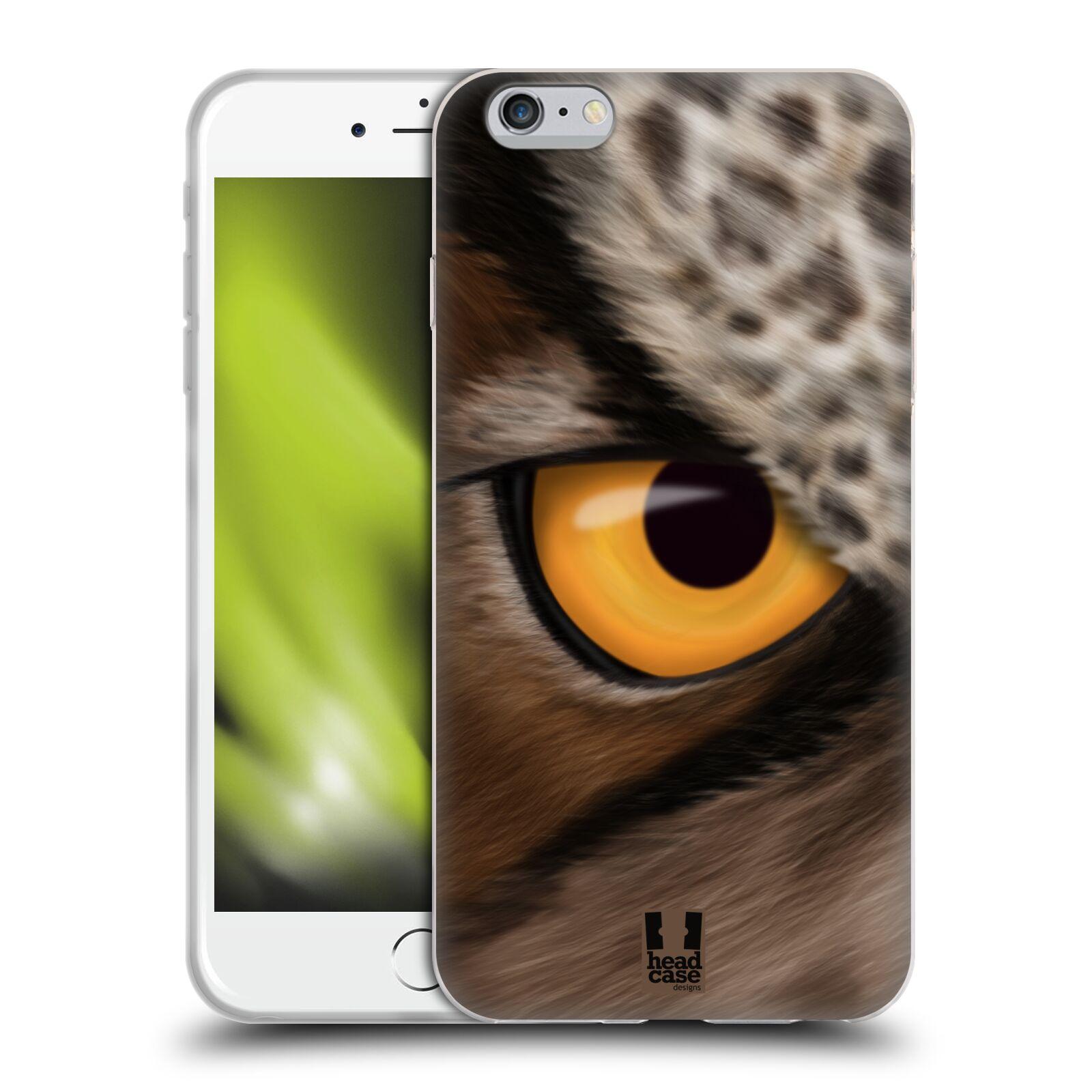 HEAD CASE silikonový obal na mobil Apple Iphone 6 PLUS/ 6S PLUS vzor pohled zvířete oko sova