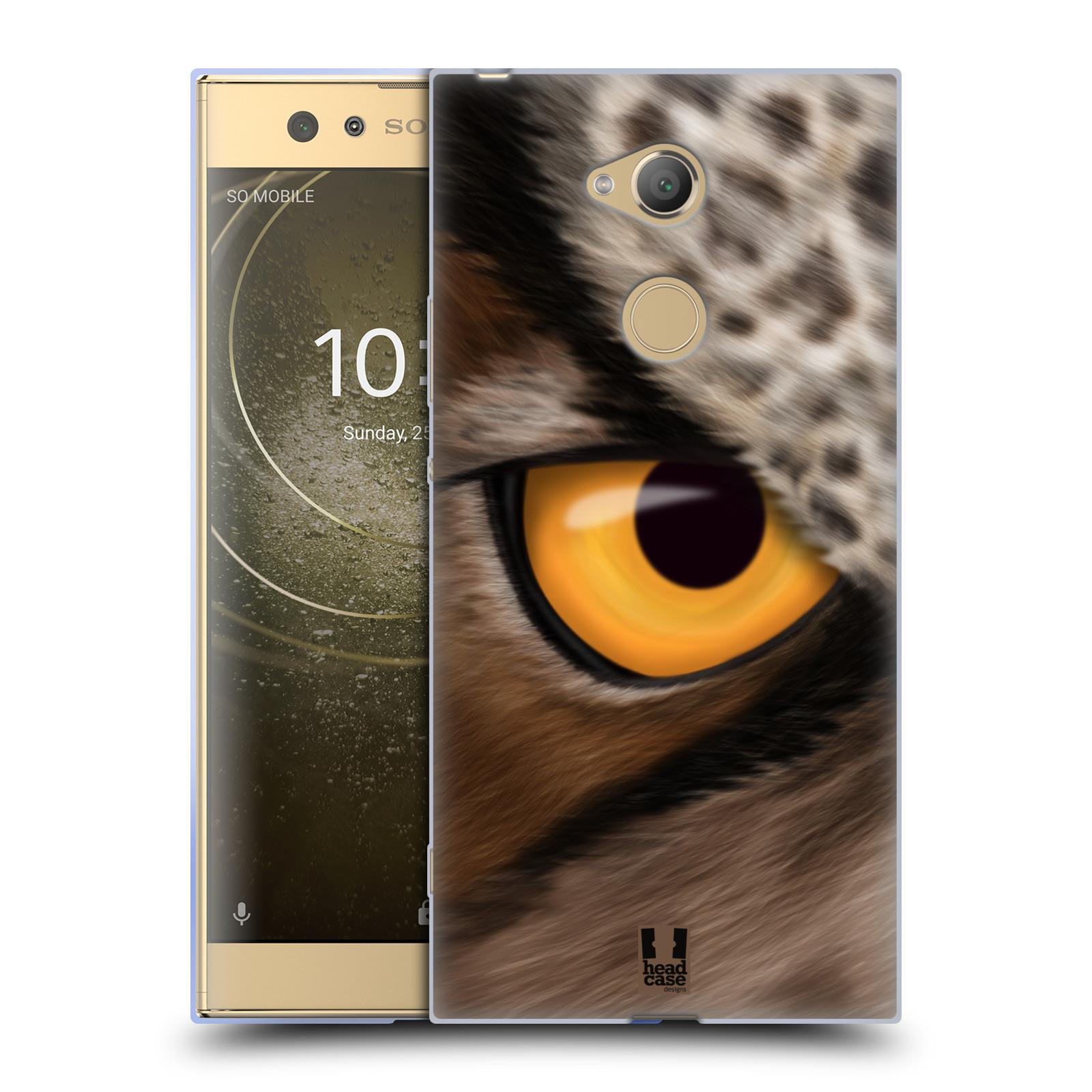 Pouzdro na mobil Sony Xperia XA2 Ultra vzor pohled zvířete oko sova