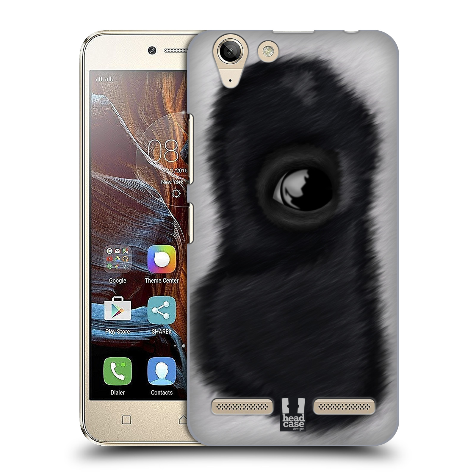 HEAD-CASE-DESIGNS-OCCHIO-ANIMALE-COVER-RETRO-RIGIDA-PER-LENOVO-VIBE-K5