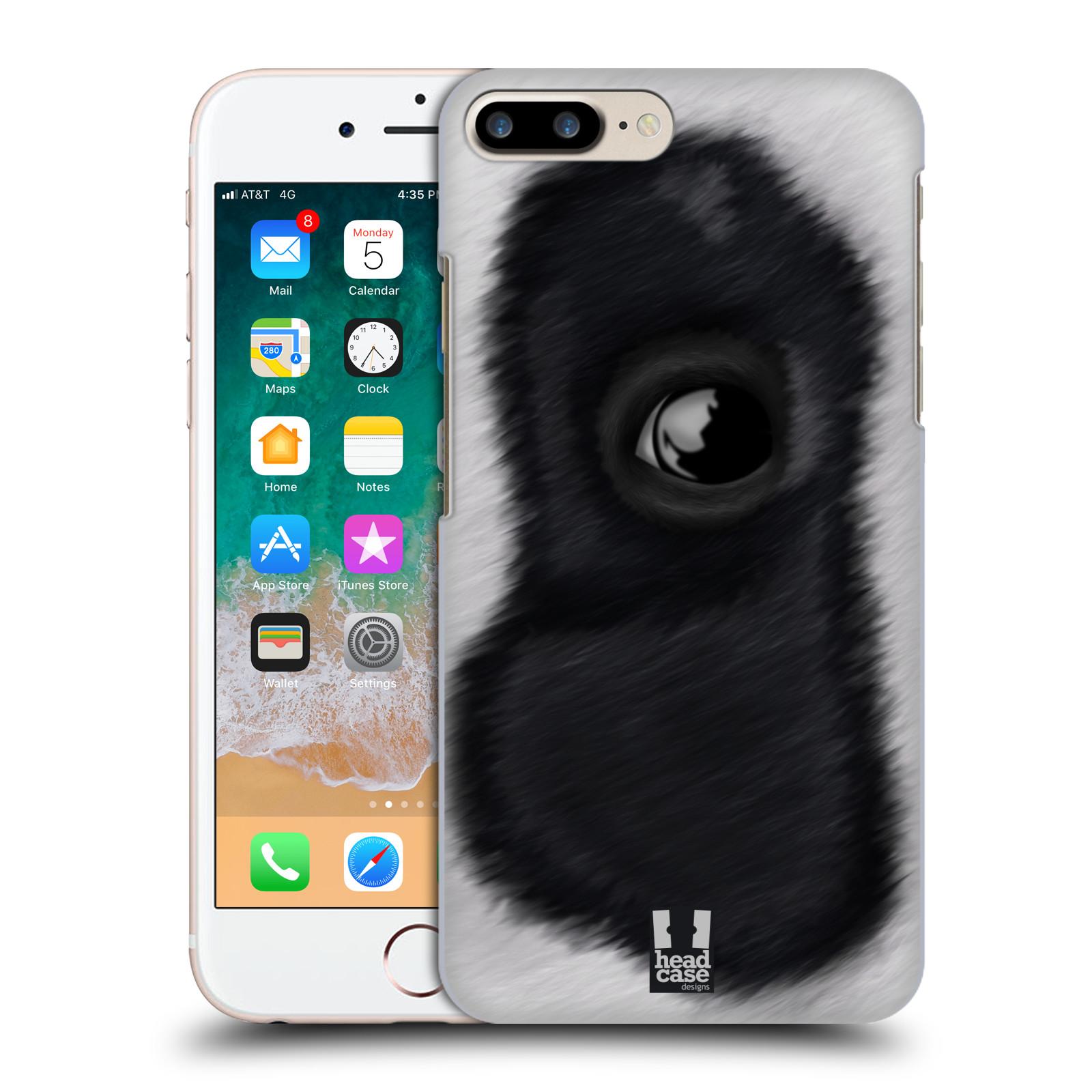 HEAD CASE plastový obal na mobil Apple Iphone 7 PLUS vzor pohled zvířete oko panda