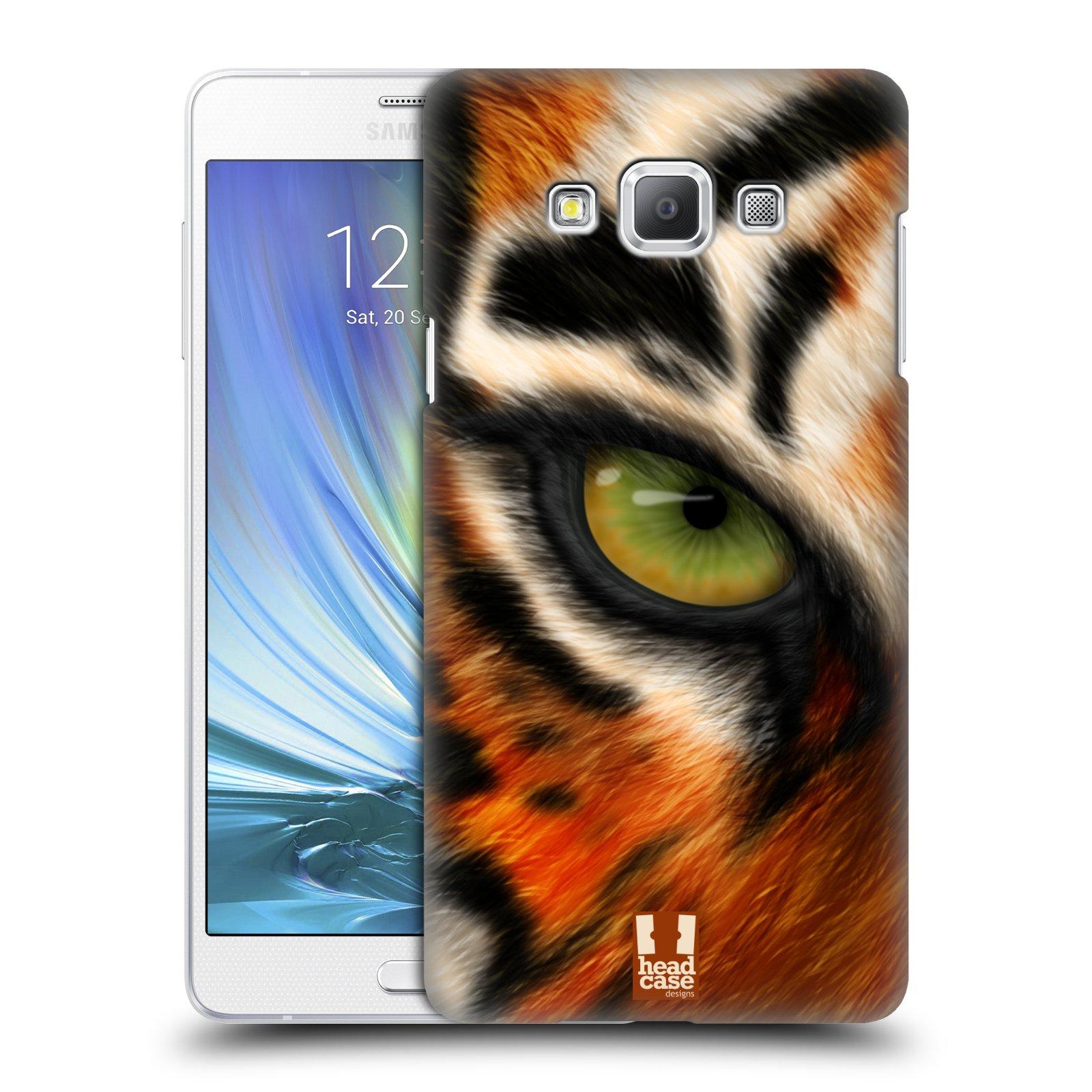 HEAD CASE plastový obal na mobil SAMSUNG GALAXY A7 vzor pohled zvířete oko tygr