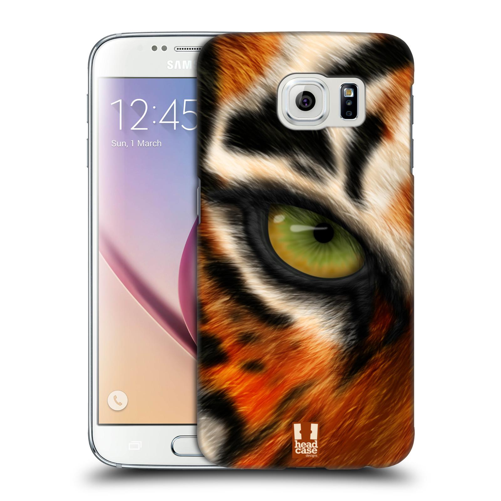HEAD CASE plastový obal na mobil SAMSUNG Galaxy S6 (G9200, G920F) vzor pohled zvířete oko tygr