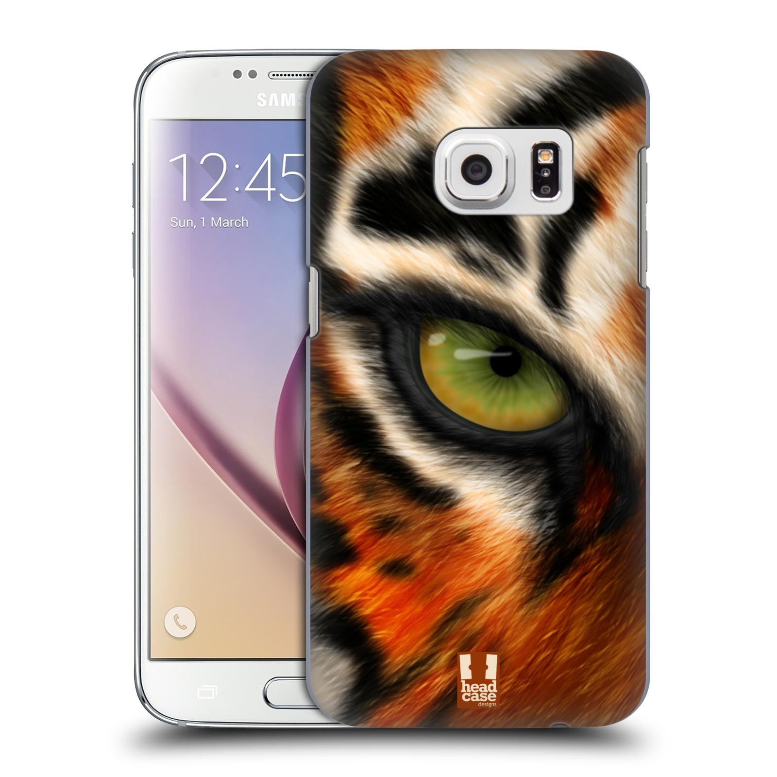 HEAD CASE plastový obal na mobil SAMSUNG GALAXY S7 vzor pohled zvířete oko tygr