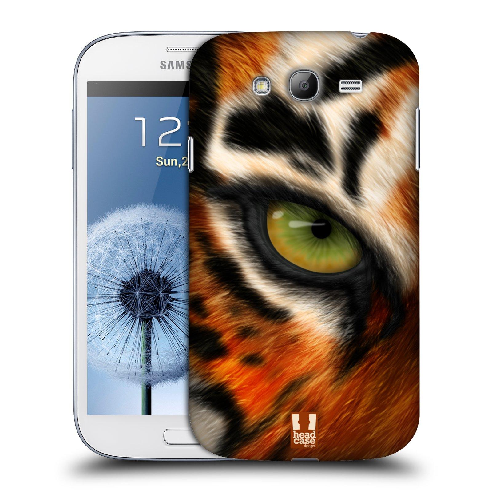 HEAD CASE plastový obal na mobil SAMSUNG GALAXY Grand i9080 vzor pohled zvířete oko tygr