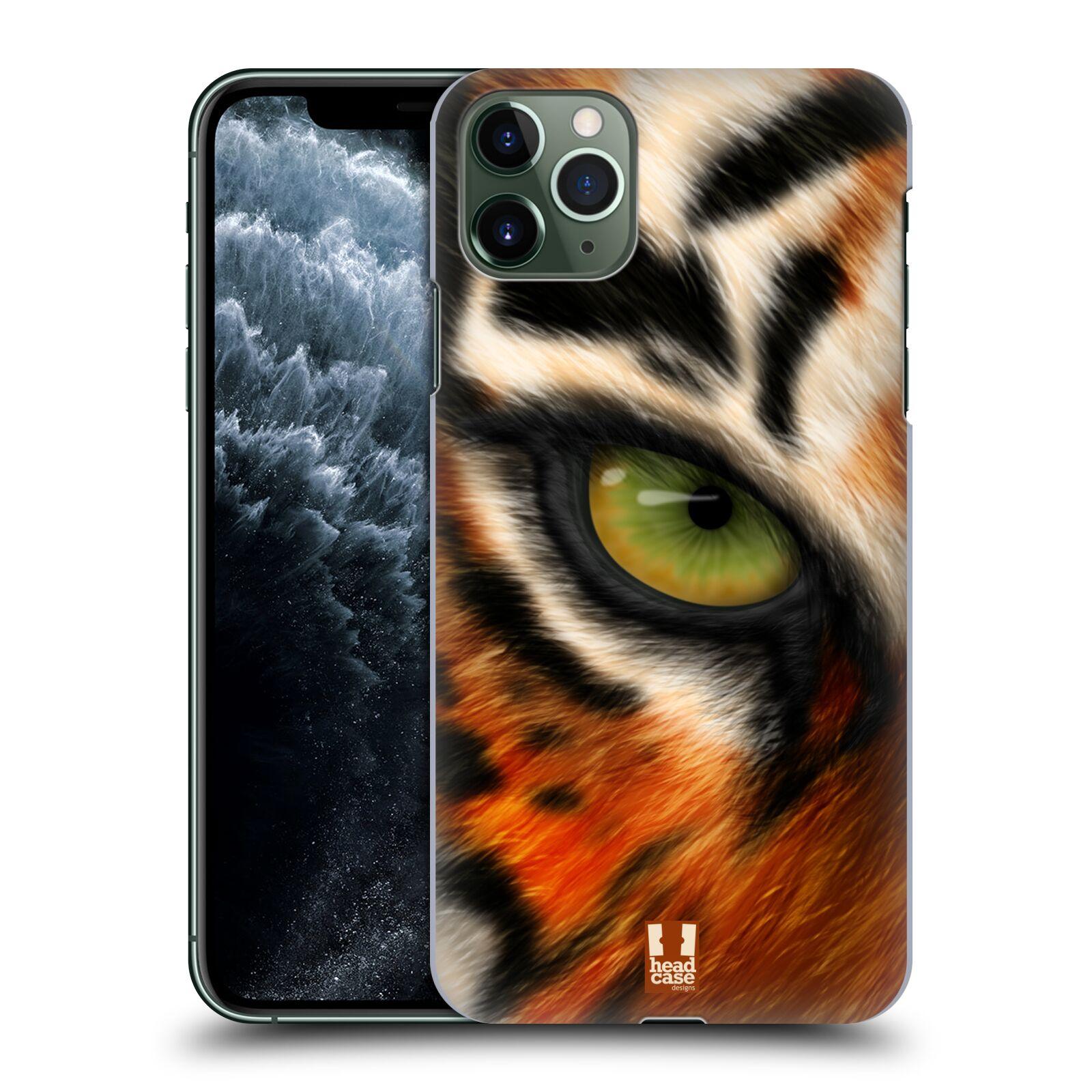 Pouzdro na mobil Apple Iphone 11 PRO MAX - HEAD CASE - vzor pohled zvířete oko tygr